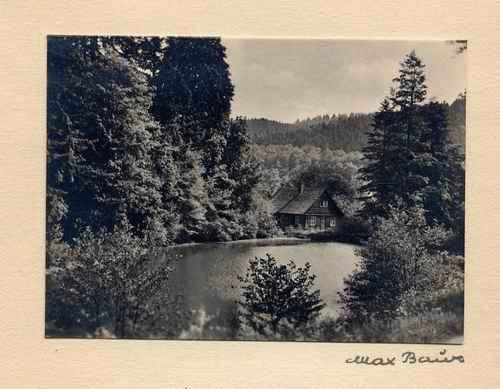 Max Baur - - WERNIGERODE - handsignierte OriginalFotographie des MEISTERs der Photographischen MODERNE mont kopen? Bied vanaf 35!
