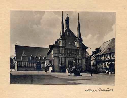 Max Baur - - WERNIGERODE - handsignierte OriginalFotographie des MEISTERs der Photographischen MODERNE montiert kopen? Bied vanaf 35!