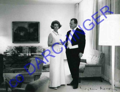 Josef H. Darchinger - WILLY BRANDT mit RUTH BRANDT - Handsignierte OriginalFotographie des BRANDT-Biographen aus BONN kopen? Bied vanaf 400!