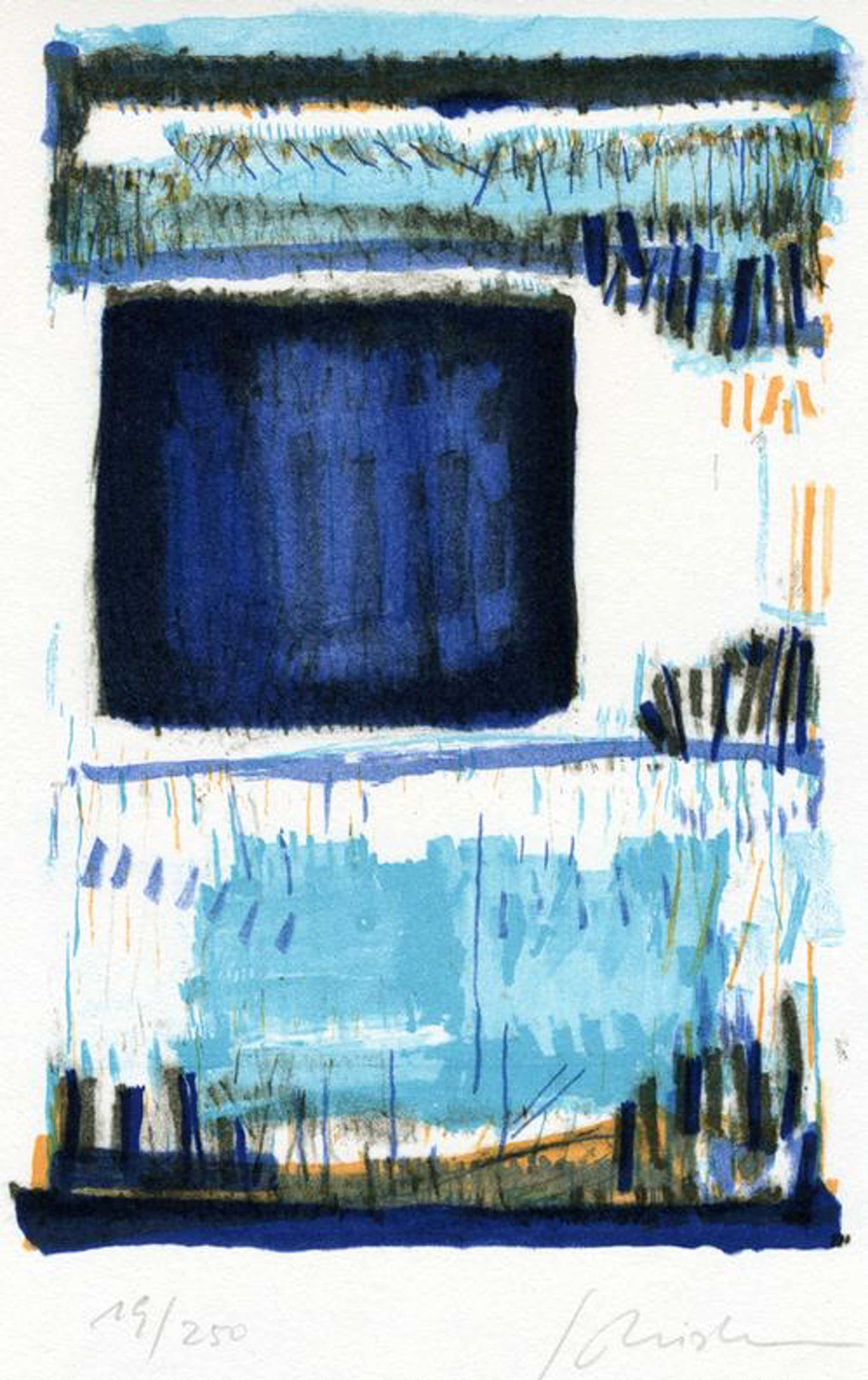 Georg Meistermann - Winterfenster, Litho, 1979 kopen? Bied vanaf 120!