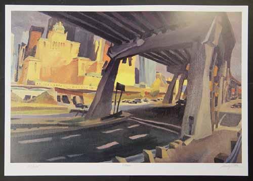 Rudolf Stüssi - X-Roads - Architektur der Moderne - handsignierte, nummerierte und betitelte Grafik kopen? Bied vanaf 68!