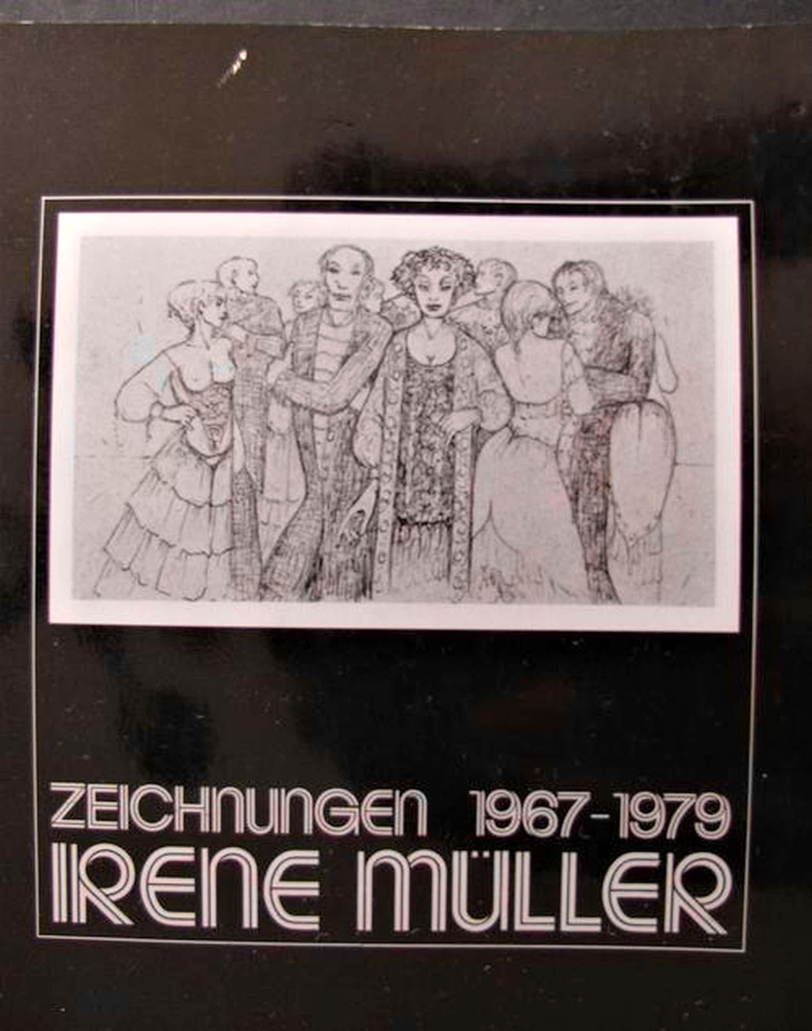 Irene Müller - ZEICHNUNGEN 1967 - 1979 . Signiert . Über 1200 Abbildungen kopen? Bied vanaf 100!