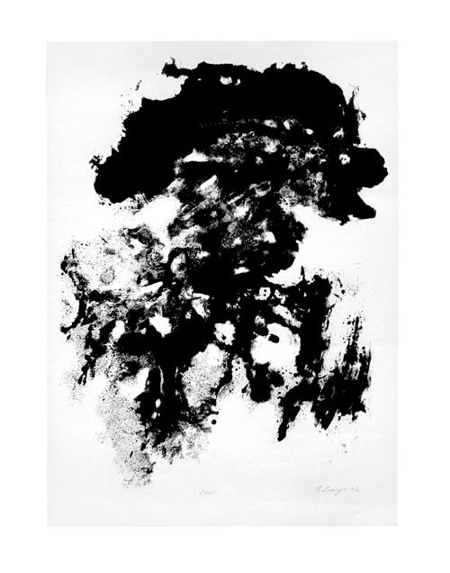 Reinhard lange - Zero, Lithographie, 1962. kopen? Bied vanaf 160!