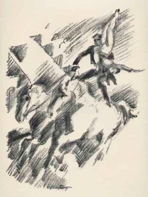 Gino Von Finetti - ZIRKUS - KUNSTREITER - OriginalLithographie des SIMPLIZISSIMUS-Illustratoren aus BERLIN - 1925 kopen? Bied vanaf 68!