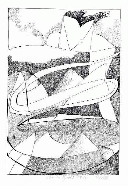 Christa Pyroth - Zu Gedicht von KRISTIANE SCHÄFFER 2 - Lithographie der Gattin von Wolff BUCHHOLZ - 1970 handsigniert kopen? Bied vanaf 45!