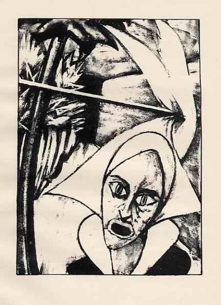 Max Kaus - - zum HEILIGEN JULIAN - OriginalLithographie a. Velin 1919 - FIGURE with HEADDRESS : RIFKIND 1385-5 kopen? Bied vanaf 35!