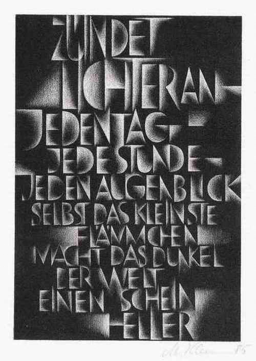 Matthias Klemm - ZÜNDET LICHTER AN -1985 handsignierte OriginalLithographie d.HOLRLBECK-Schülers (KUNSTPREIS ZWICKAU) kopen? Bied vanaf 55!