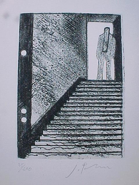 Joachim Palm - Zwei sig., Radierungen mit Katalog 1978 kopen? Bied vanaf 40!