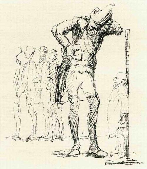 Max Slevogt - ZWERG & RIESE - OriginalLithographie des BERLINer AKADEMIE Professoren zu Adolf v.MENZEL - 1924 kopen? Bied vanaf 55!