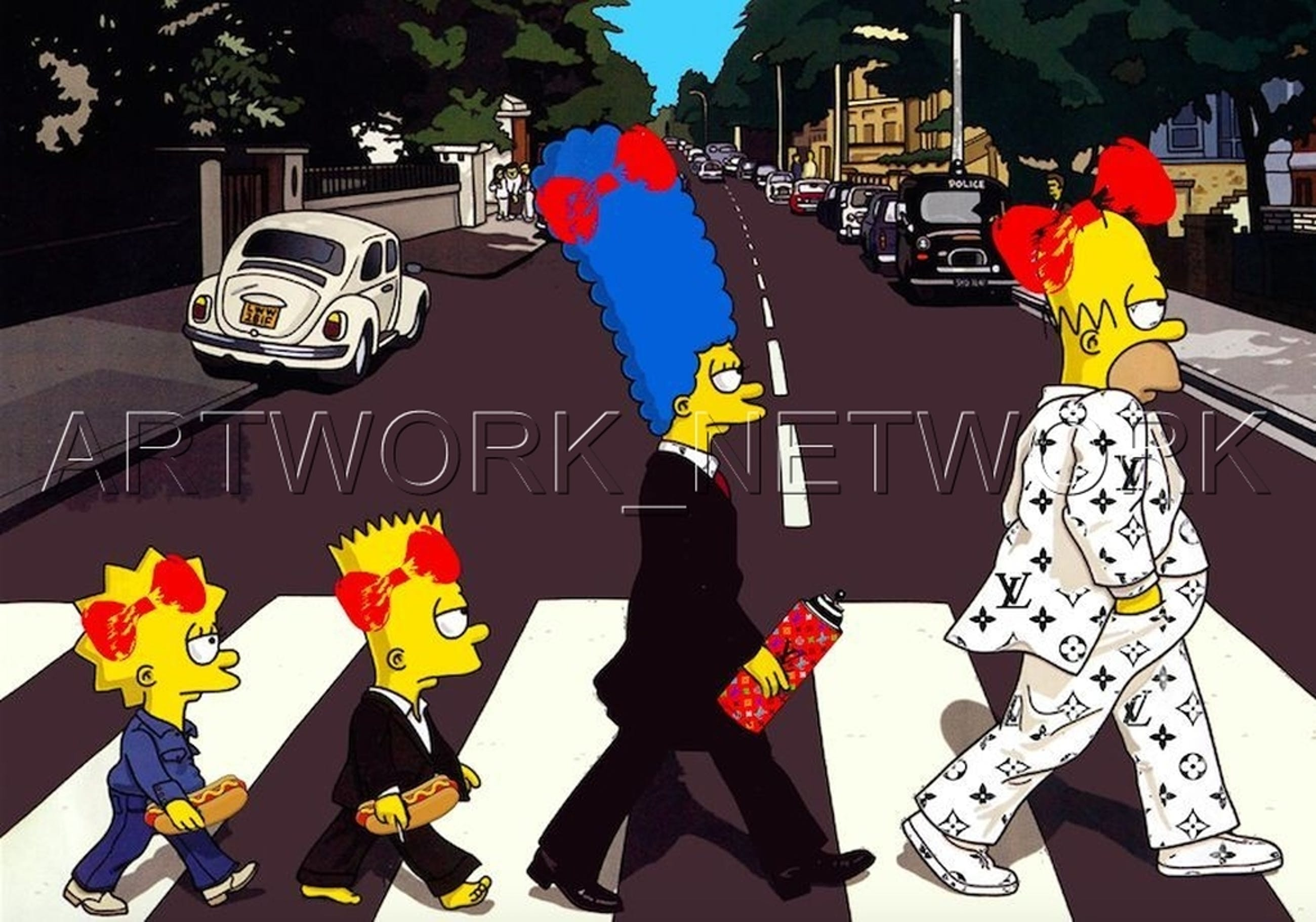 """DEATH NYC """"Family""""- Signed Screenprint with COA (Edition Artist Proof) kopen? Bied vanaf 1!"""