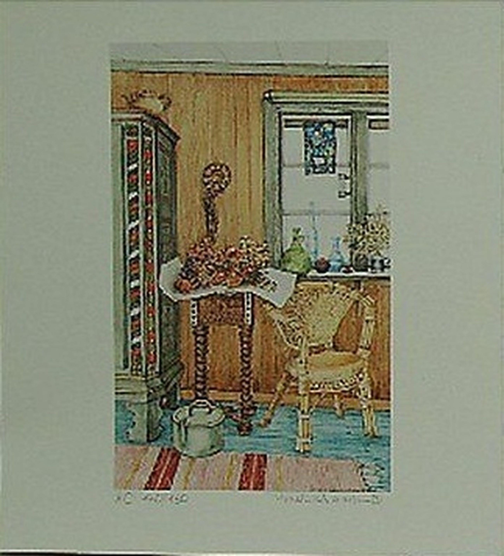 Gisela Kleinschmidt: Lithografie, Interieur kopen? Bied vanaf 1!