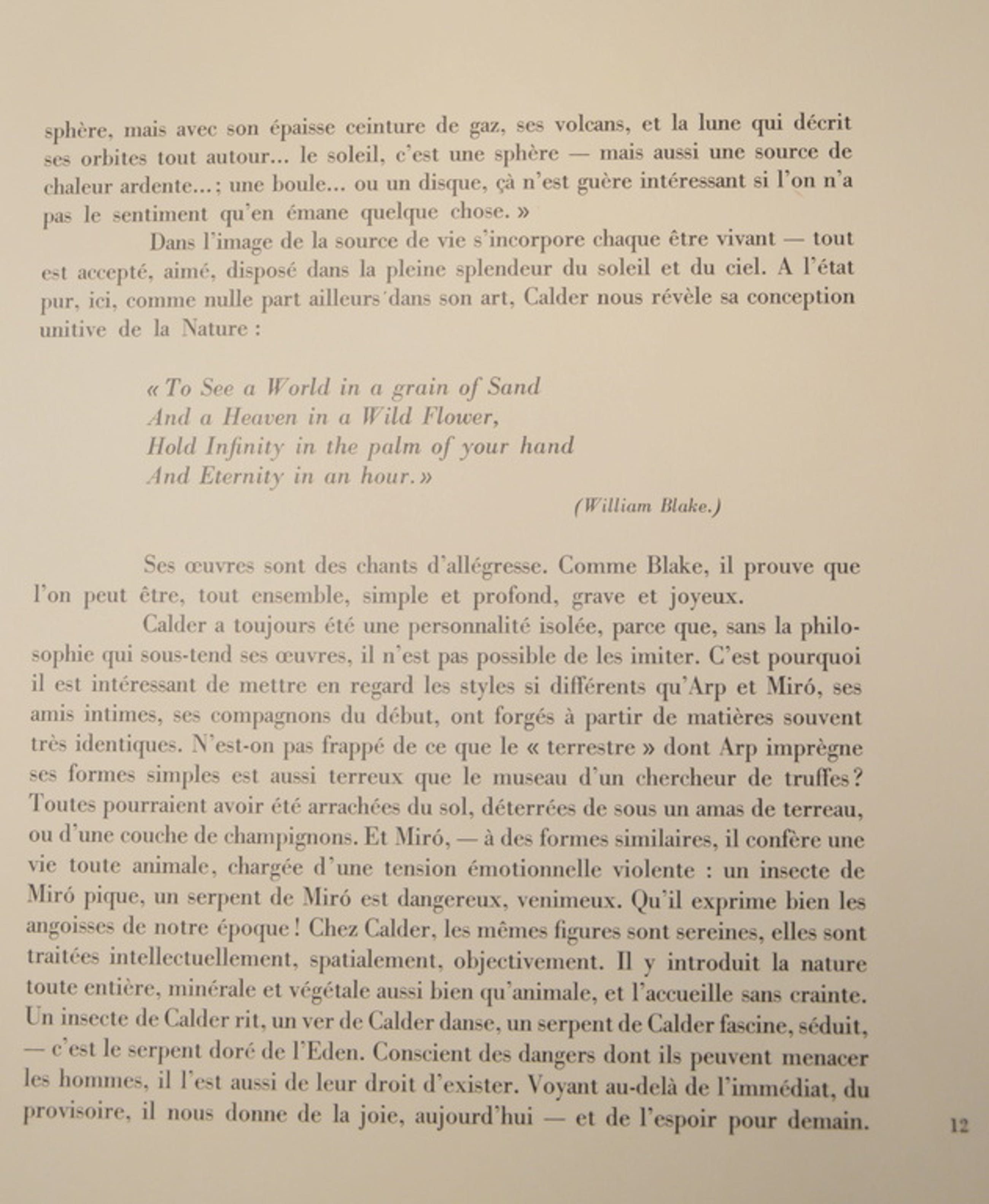 ALEXANDER CALDER kleurenlitho ' Poppies'  DLM 156  Jaar 1966 gelimiteerd 2500 ex kopen? Bied vanaf 65!