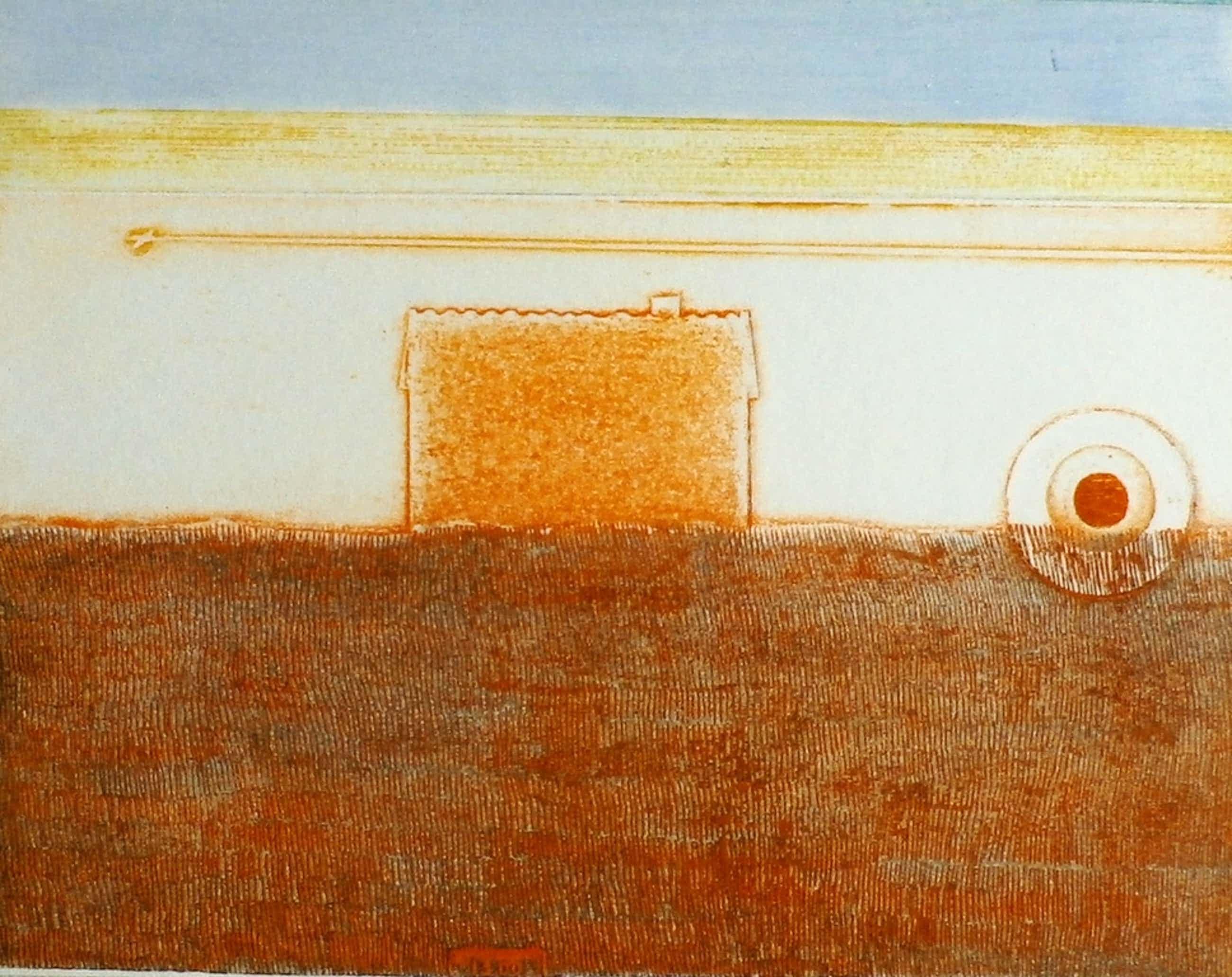 Eduard Flor - ets: huis - 1971 kopen? Bied vanaf 50!