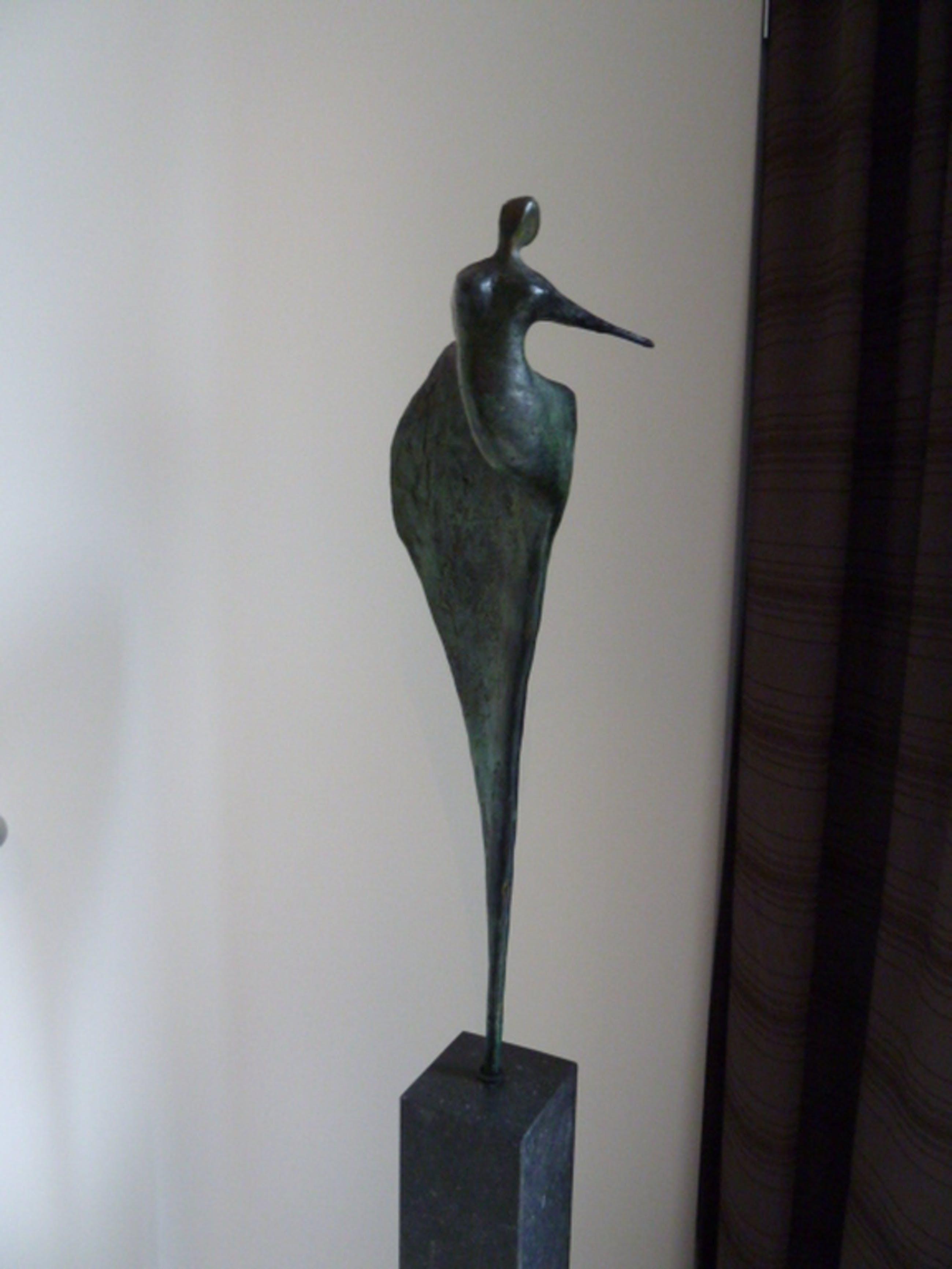 Jo Ramakers (Limburg) Massief Bronzen Sculptuur (Massief) Vrouw kopen? Bied vanaf 475!