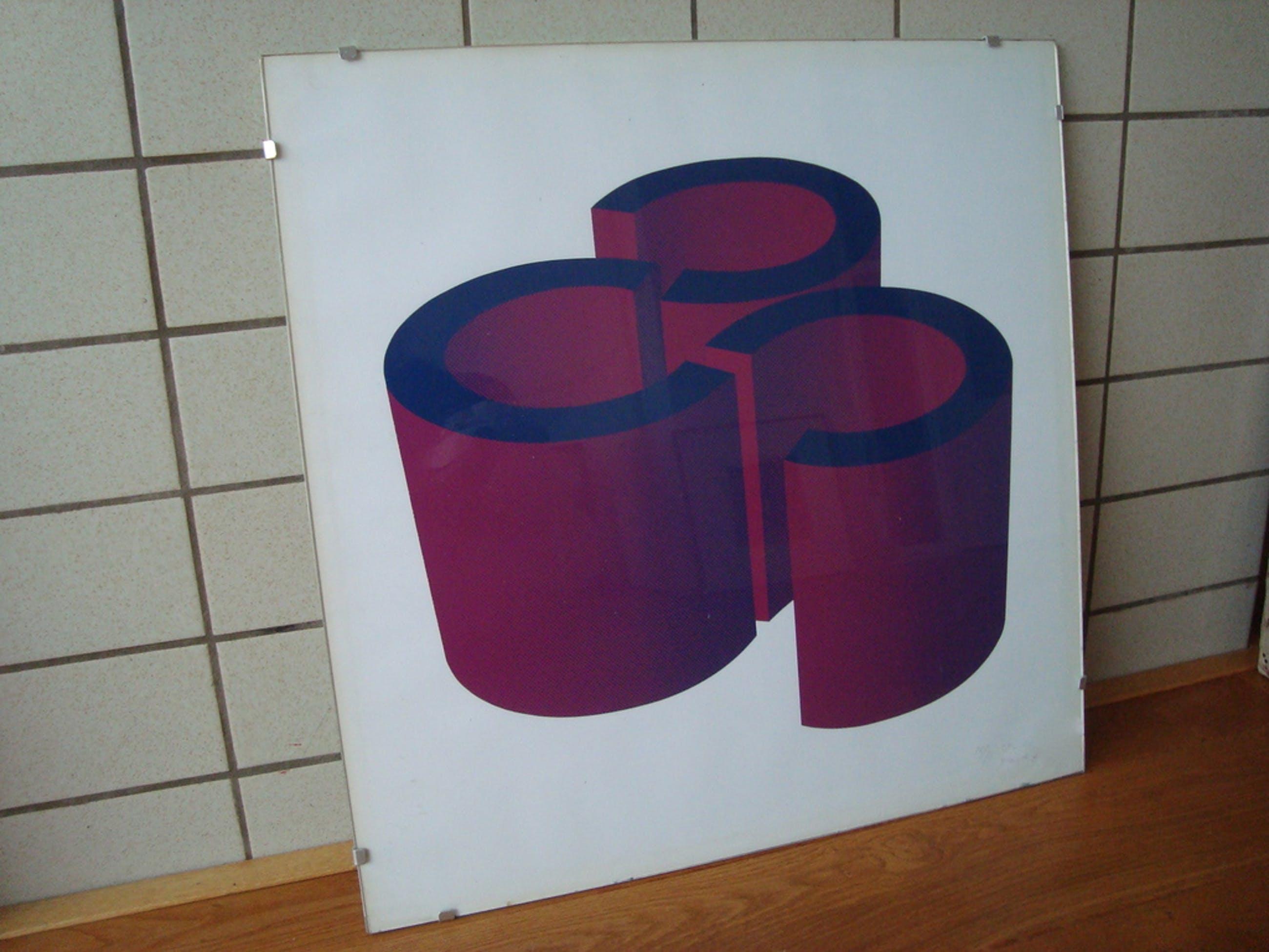 Yvonne Kracht - Zeefdruk 1973 kopen? Bied vanaf 50!