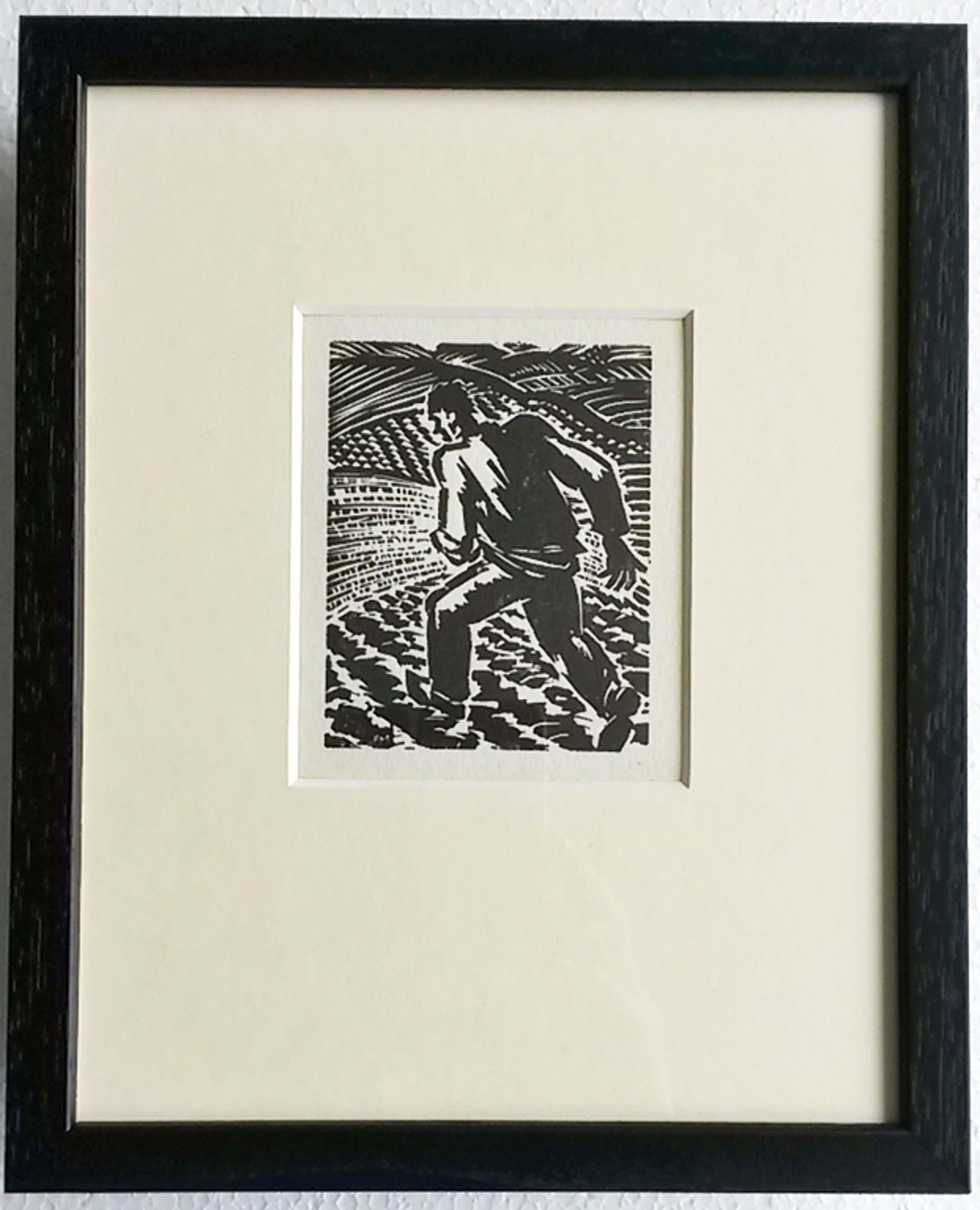 Frans Masereel, houtsnede, uit Ecce Homo 1949, Sämann (Zaaier) kopen? Bied vanaf 55!