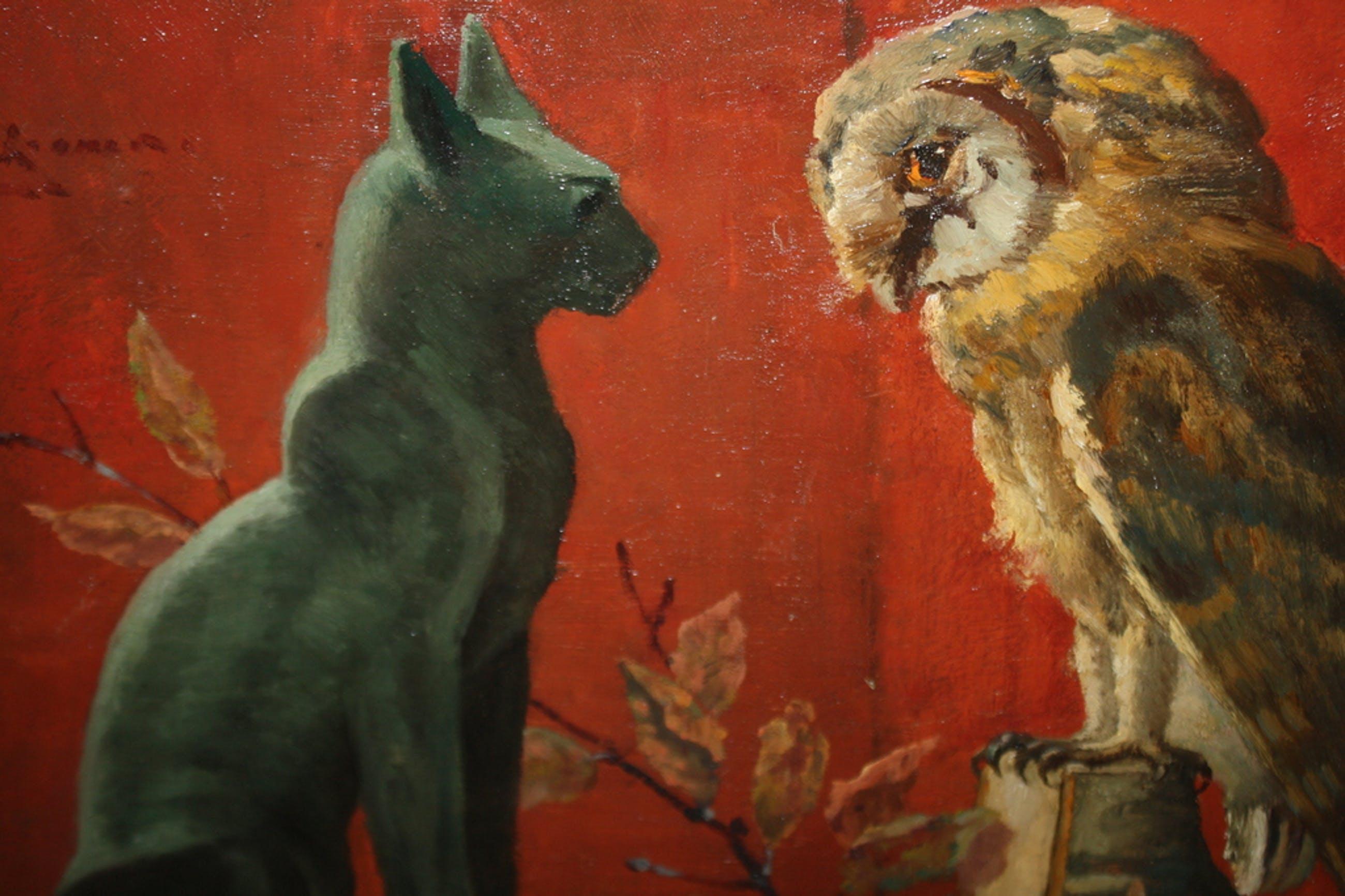 KAT EN UIL - ART DECO van SIEGER BAUKEMA kopen? Bied vanaf 275!