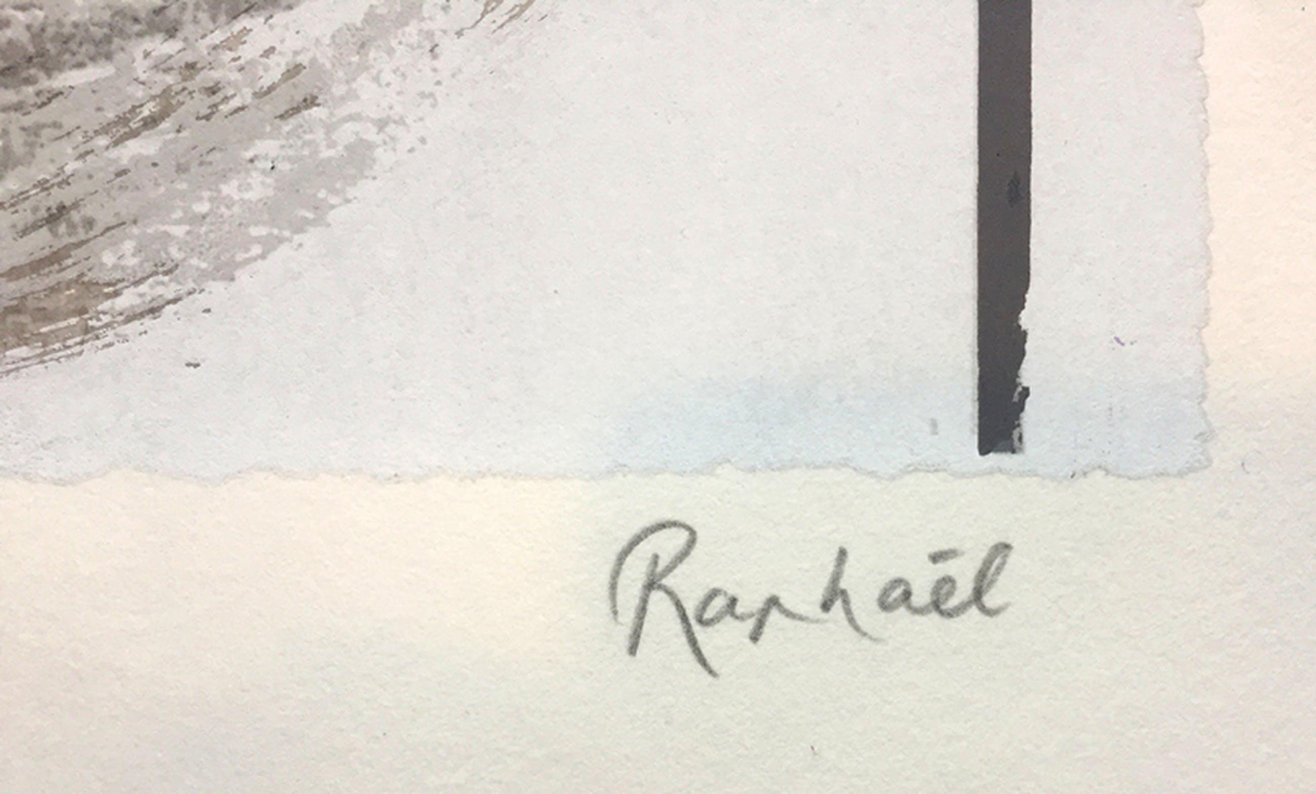 Raphaél Hermans - Mammoet - gesigneerde zeefdruk - E/A - 2002 kopen? Bied vanaf 95!