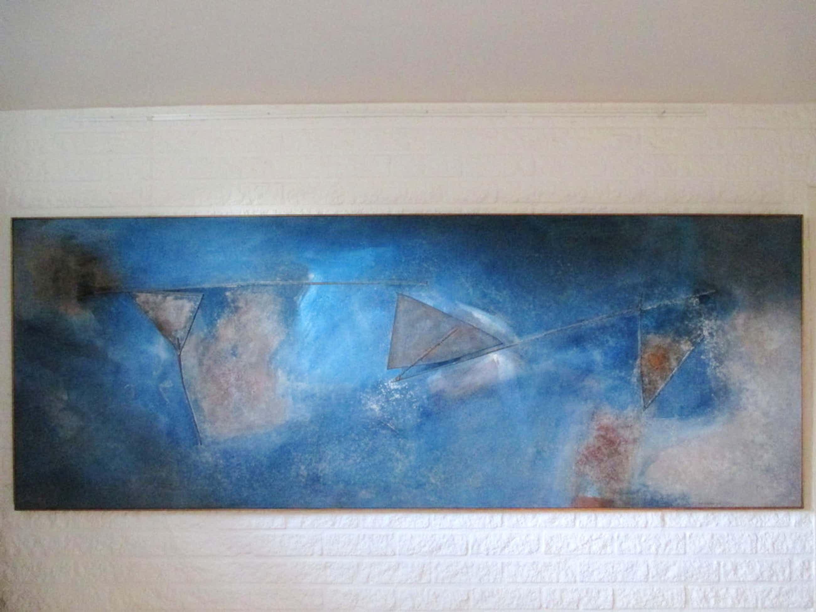 Henk Erkelens Schilderij ZEER GROOT kopen? Bied vanaf 300!