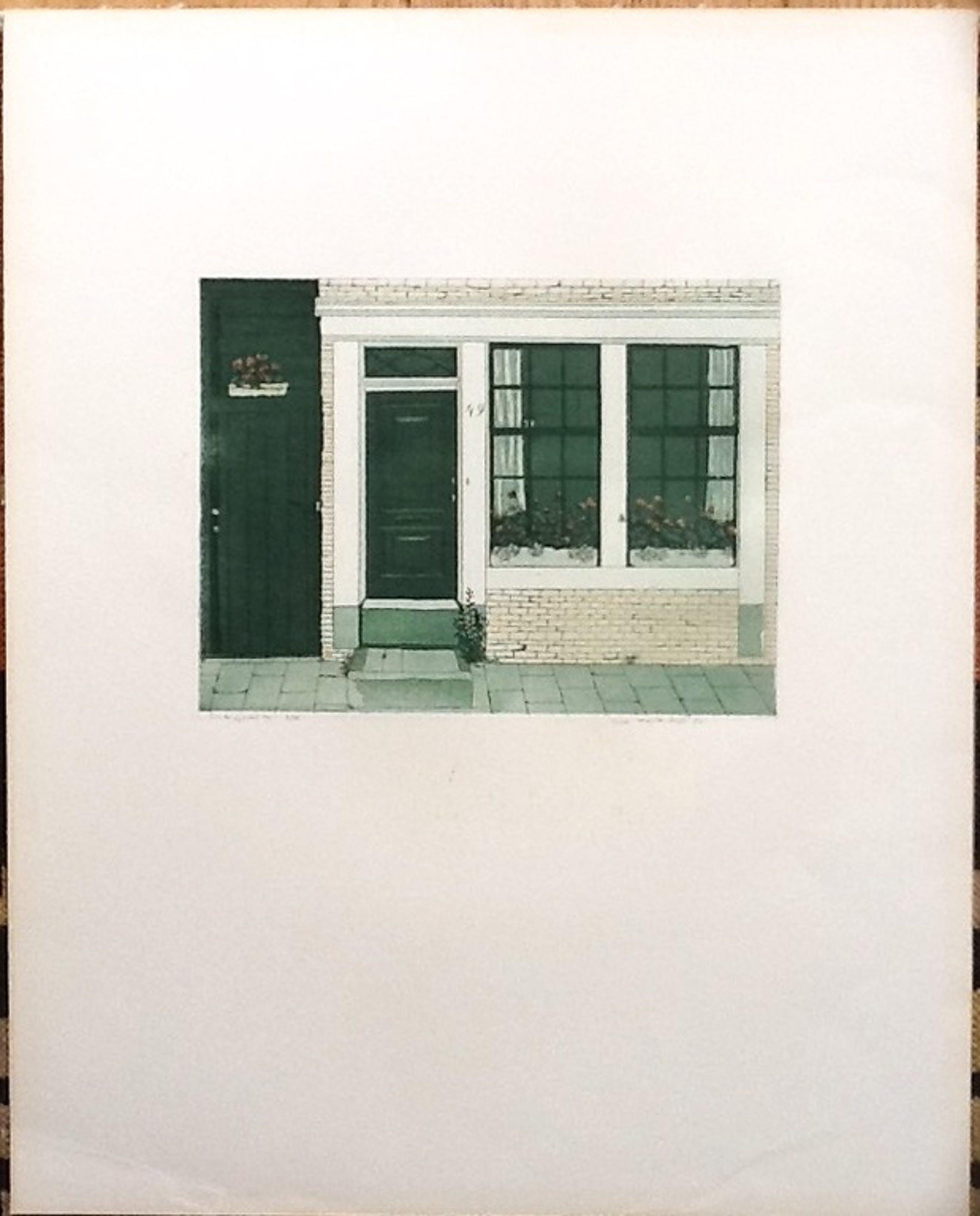 Lucie Meulendijks, ets en aquatint ,Lindengracht Amsterdam, 8/75 gesigneerd kopen? Bied vanaf 25!
