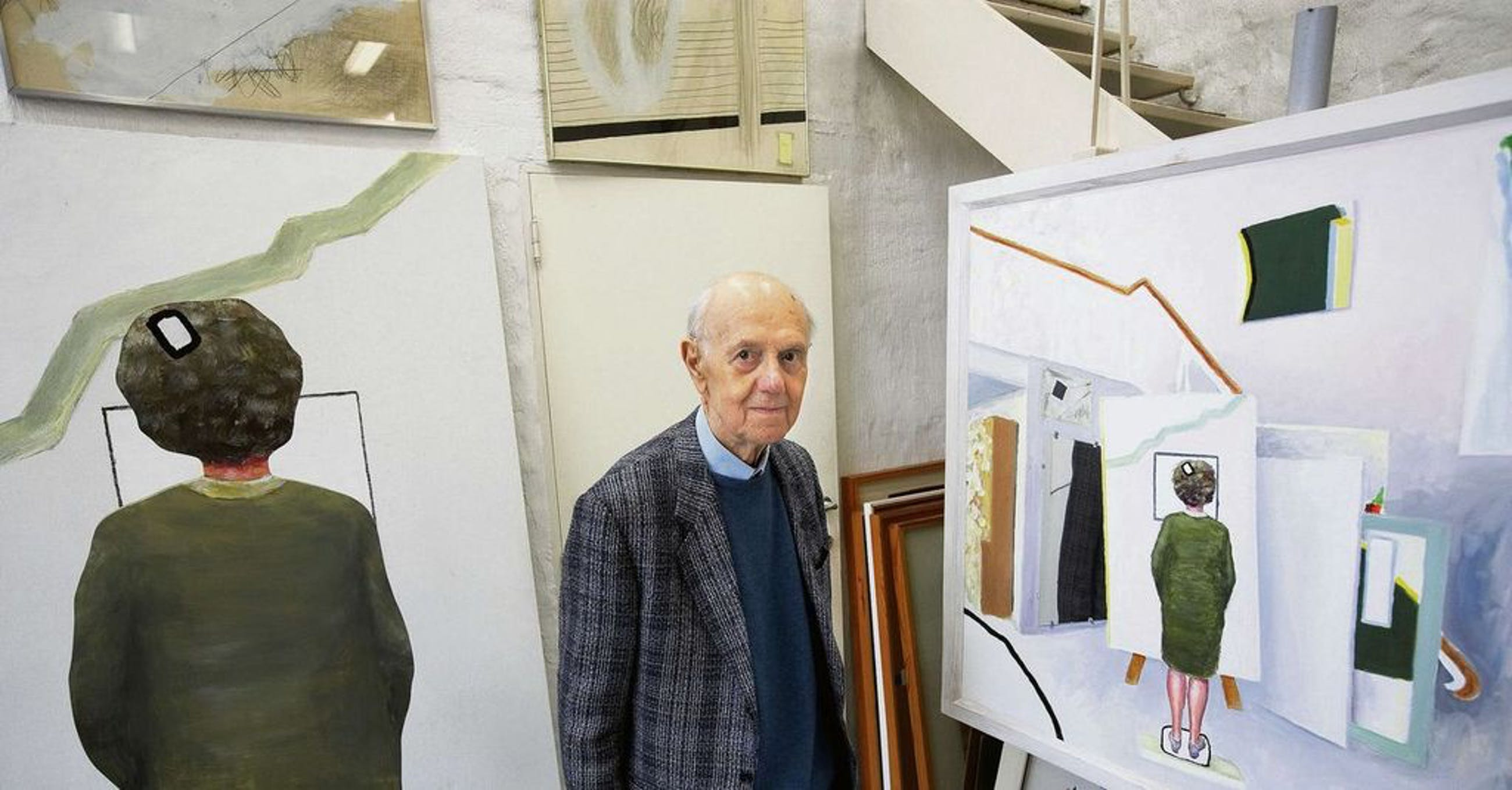 Roger Raveel - Giotto, aquatint ets (prachtig ingelijst) kopen? Bied vanaf 500!