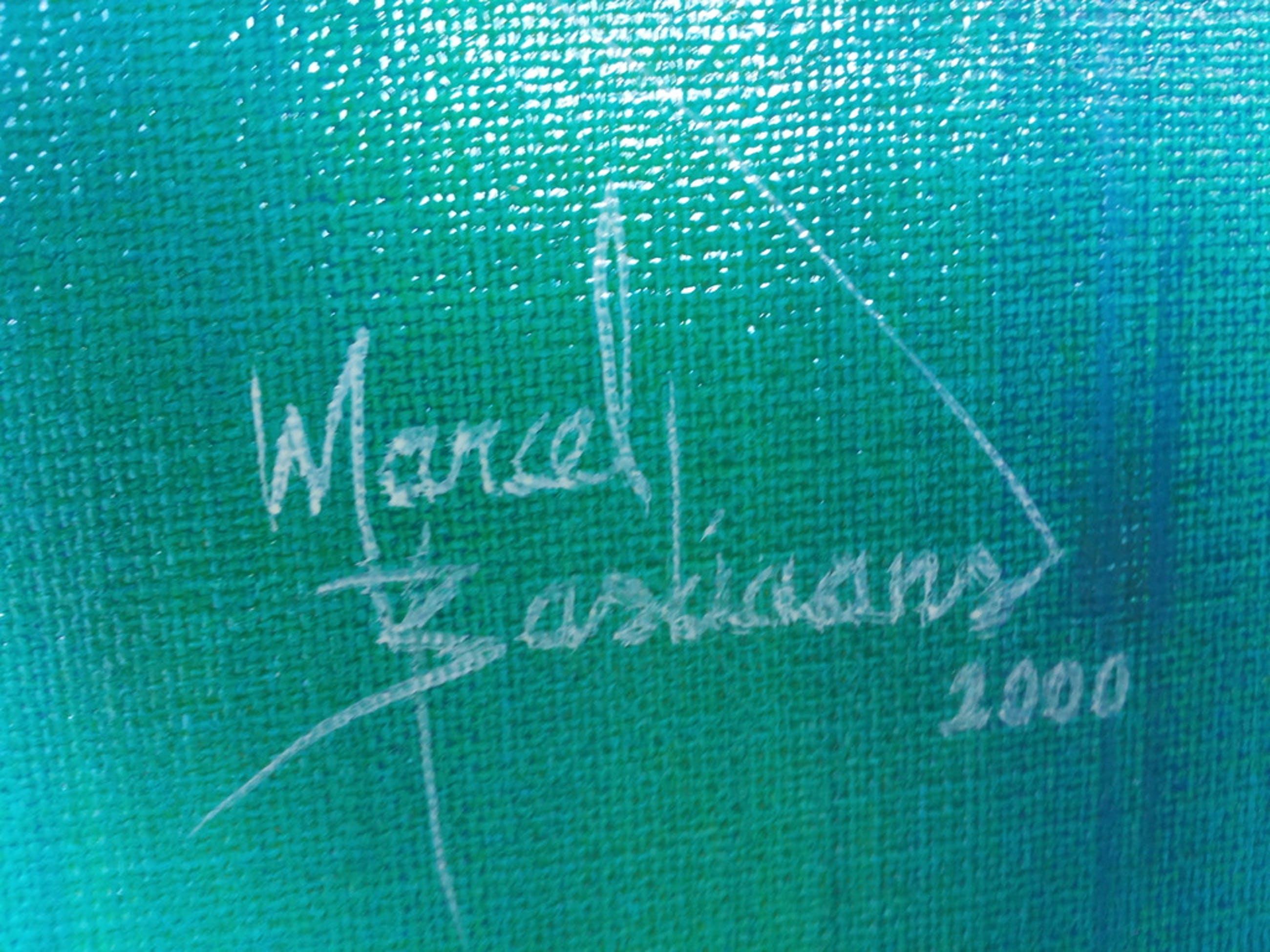 Marcel Bastiaans,  acryl op doek, geen titel, 200 x 60 cm kopen? Bied vanaf 1900!