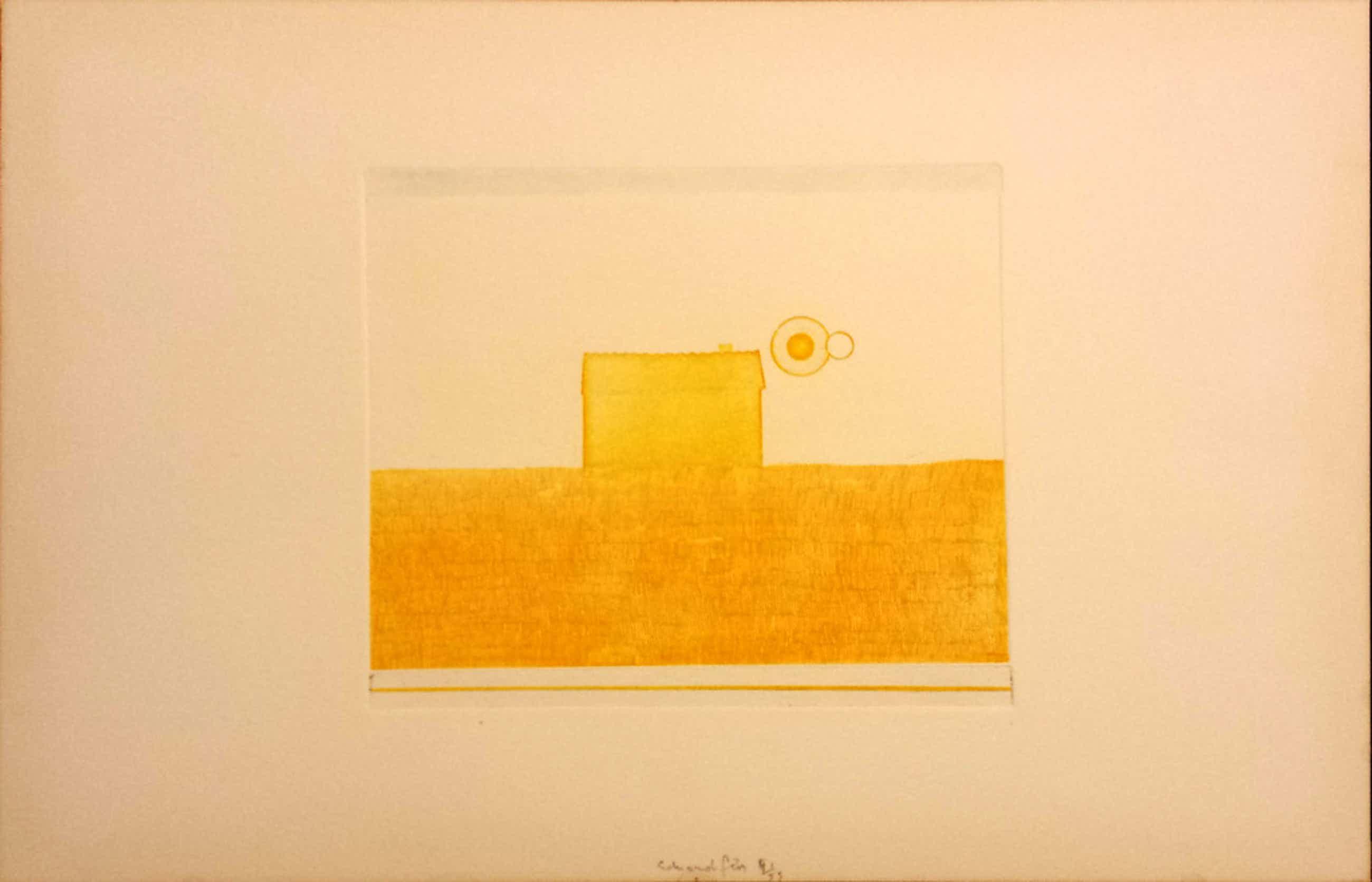 Eduard Flor, Ets nr 6, tijd, 1974 kopen? Bied vanaf 50!