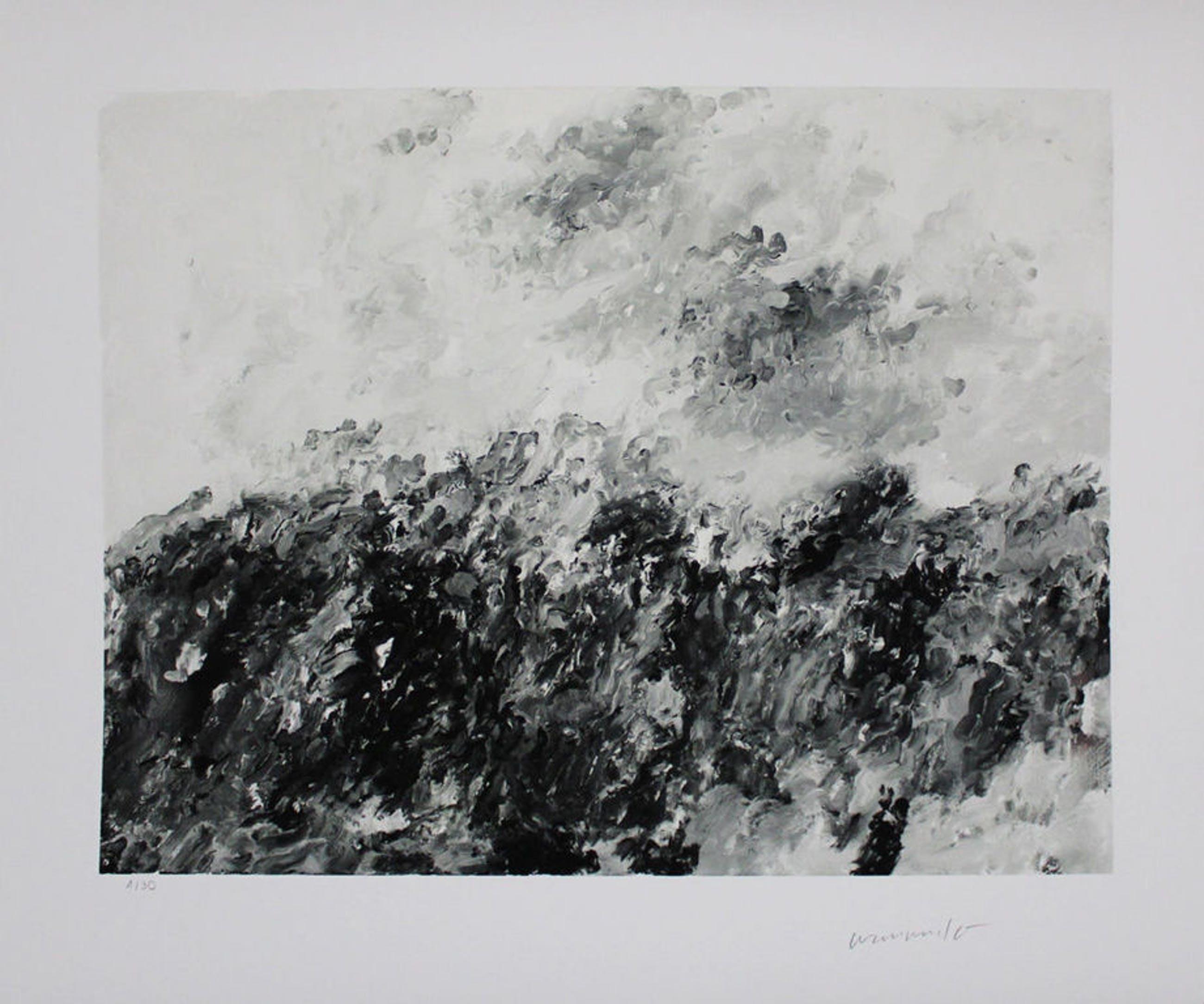Armando, Landschaft (2014), giclee kopen? Bied vanaf 200!