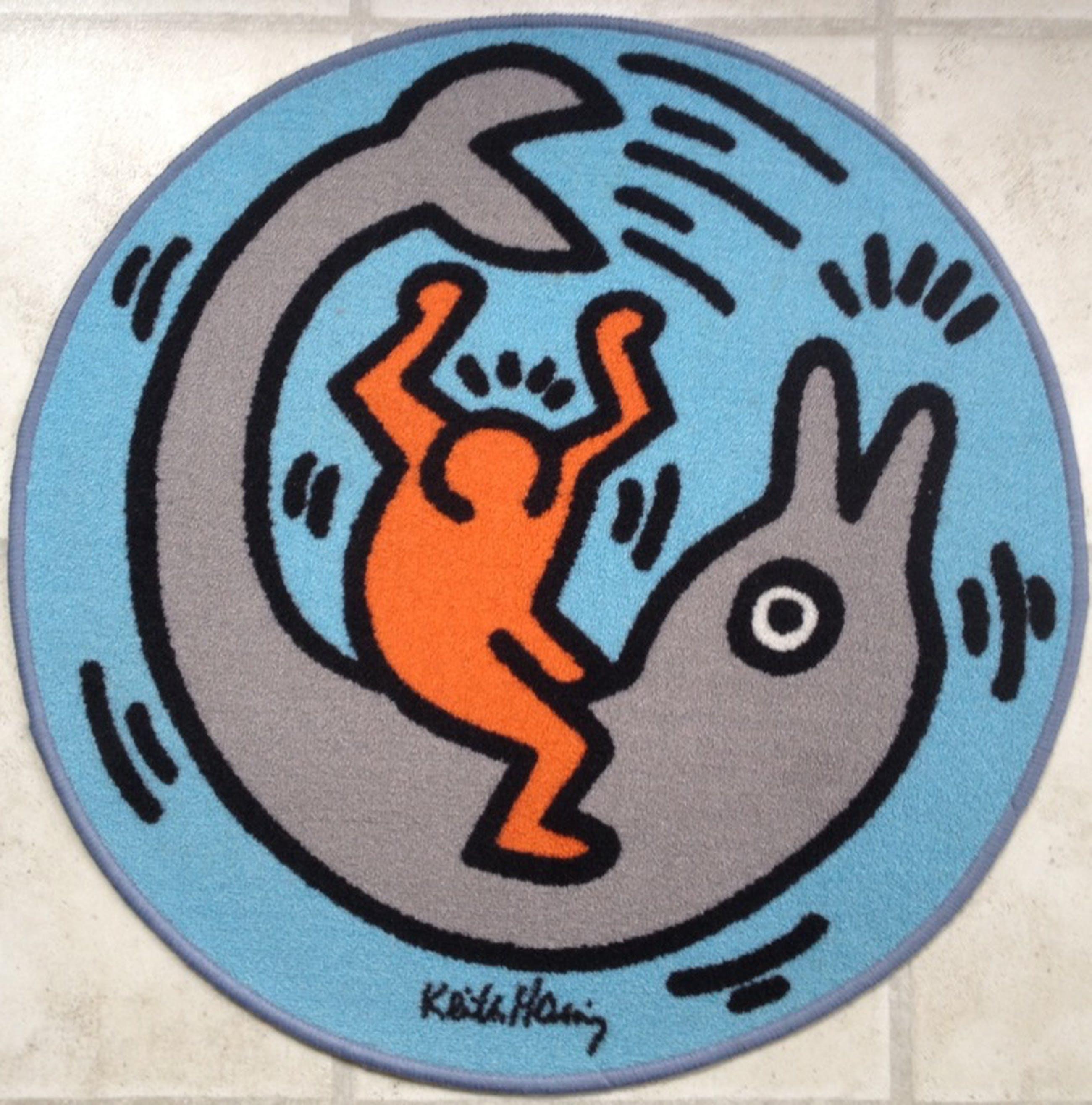 Keith Haring - Zeer groot origineel Carpet kopen? Bied vanaf 69!