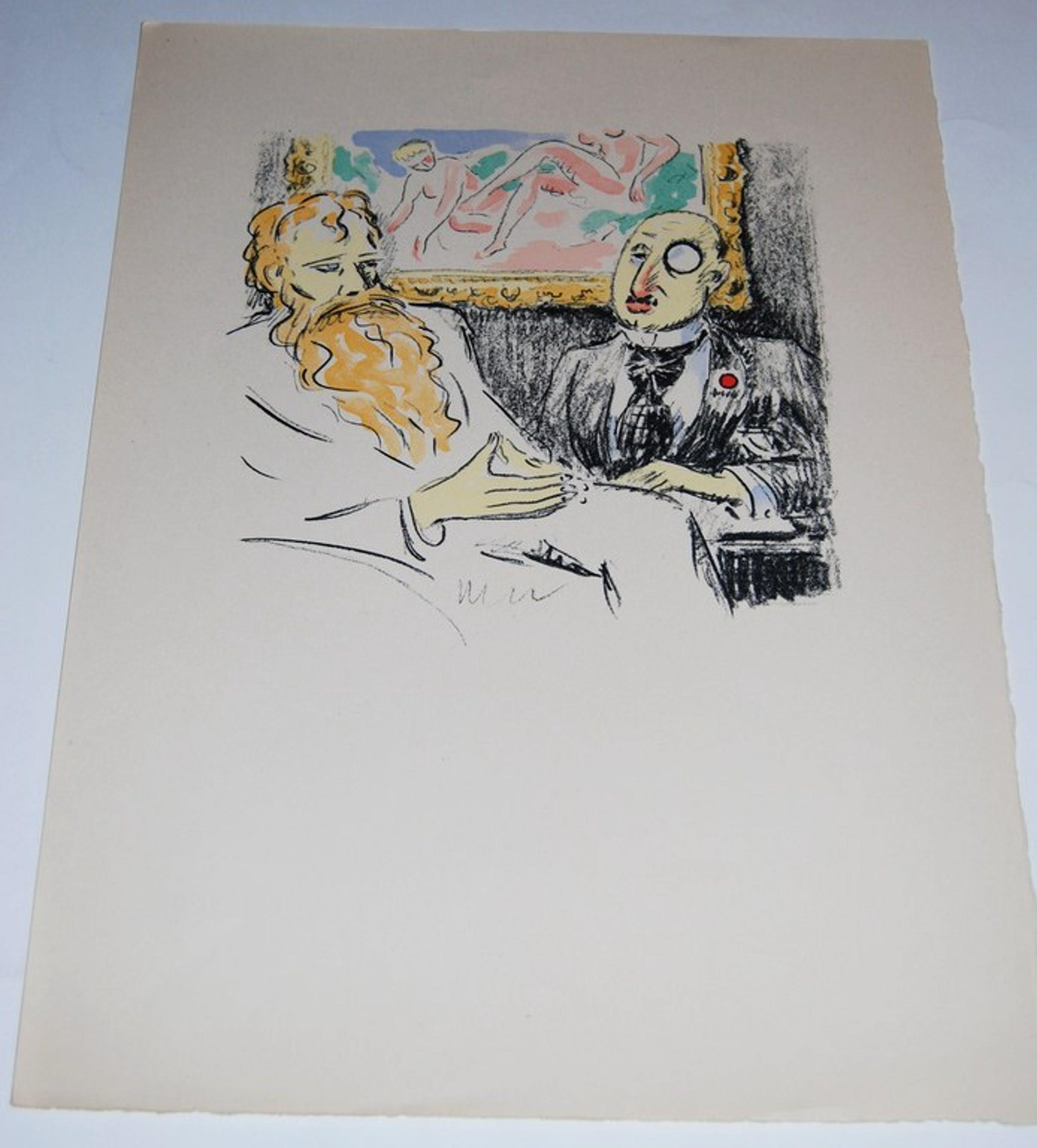Kees van Dongen, La Revolte des Anges, Litho Mourlot, 1951 kopen? Bied vanaf 120!