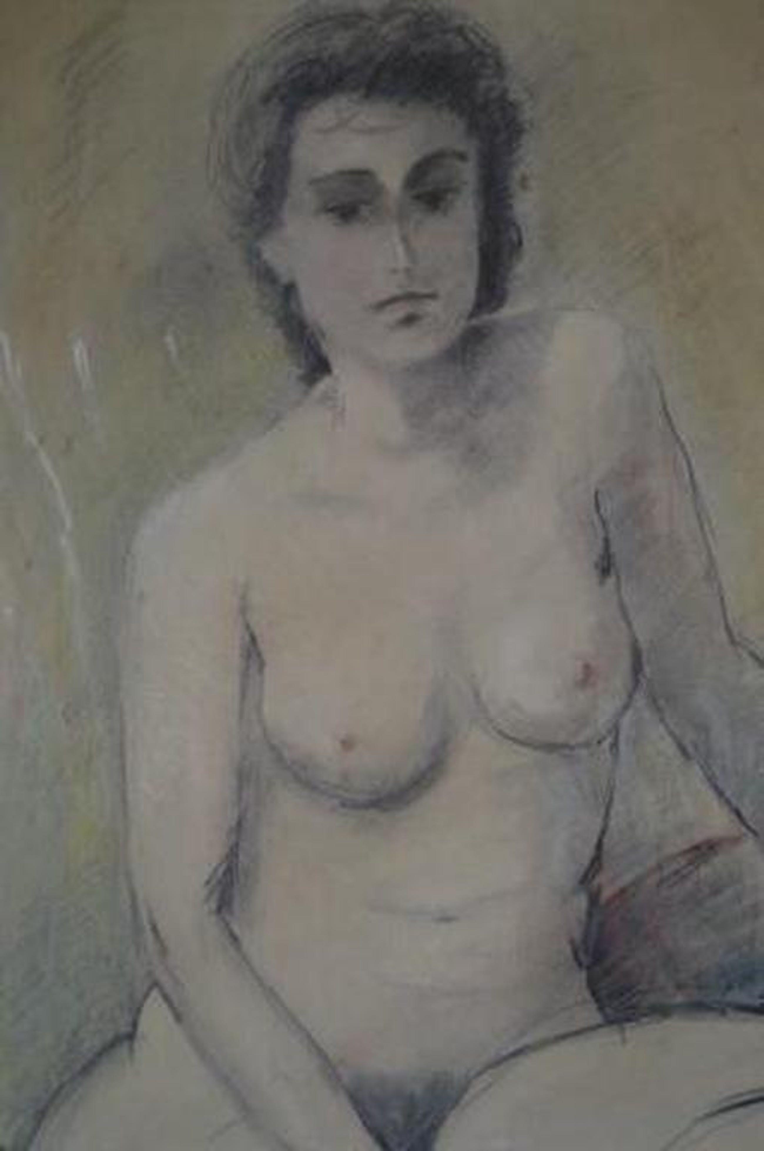 Jaap van Veen, naakt pastel 50 x 60 - 1978 kopen? Bied vanaf 50!