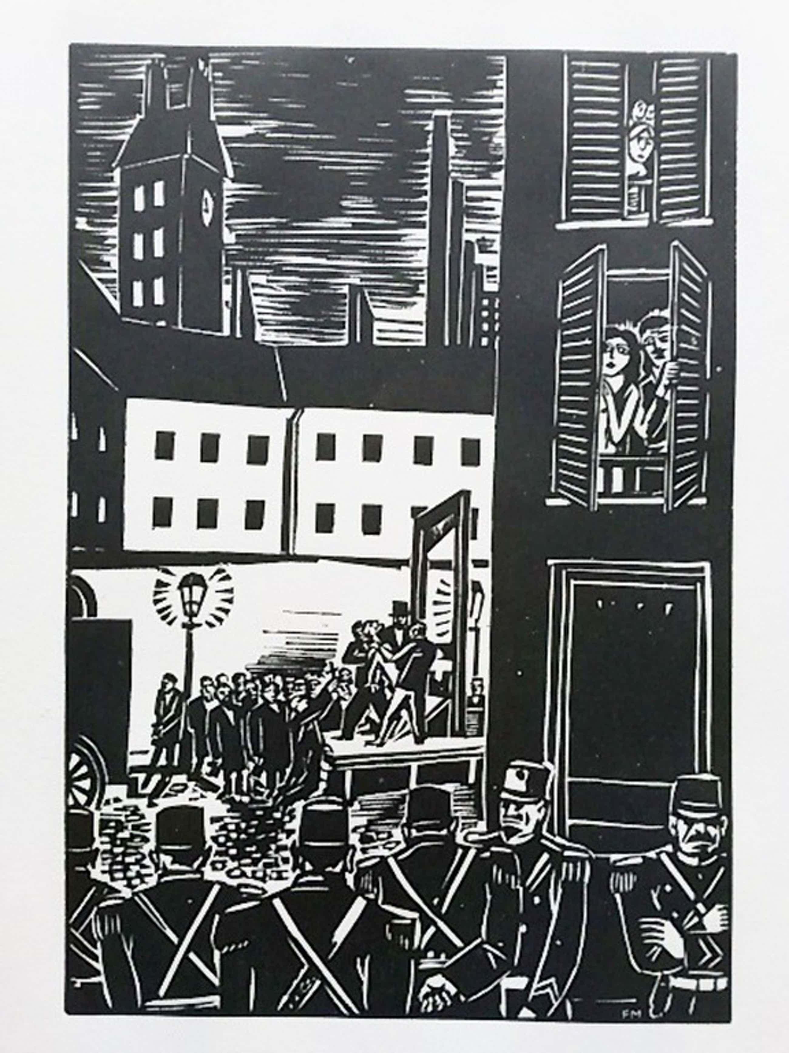 Frans Masereel, houtsnede, uit La Ville 1928 kopen? Bied vanaf 55!