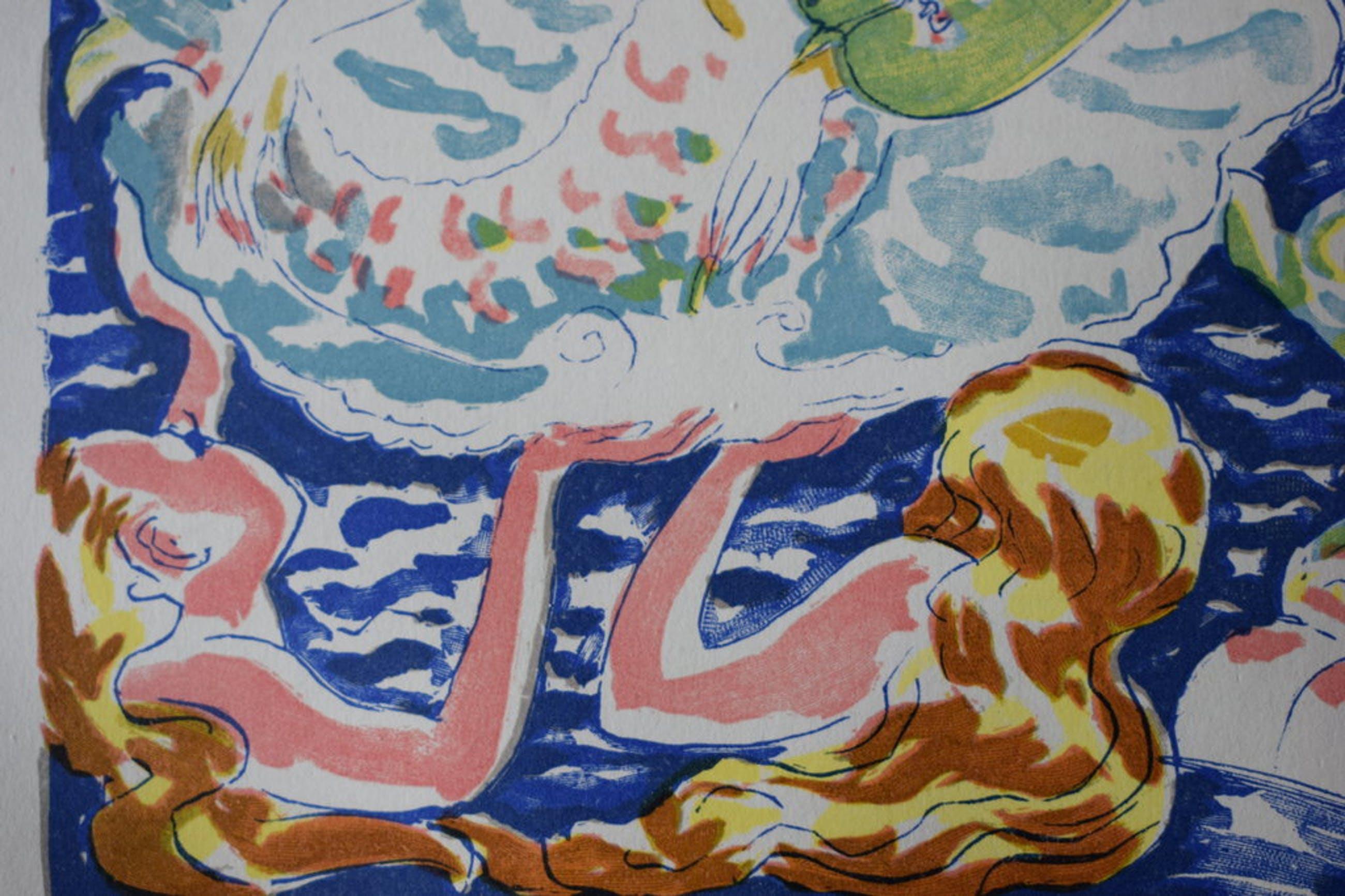 Kees van Dongen - Houtgravure - Les femmes serpentine kopen? Bied vanaf 35!