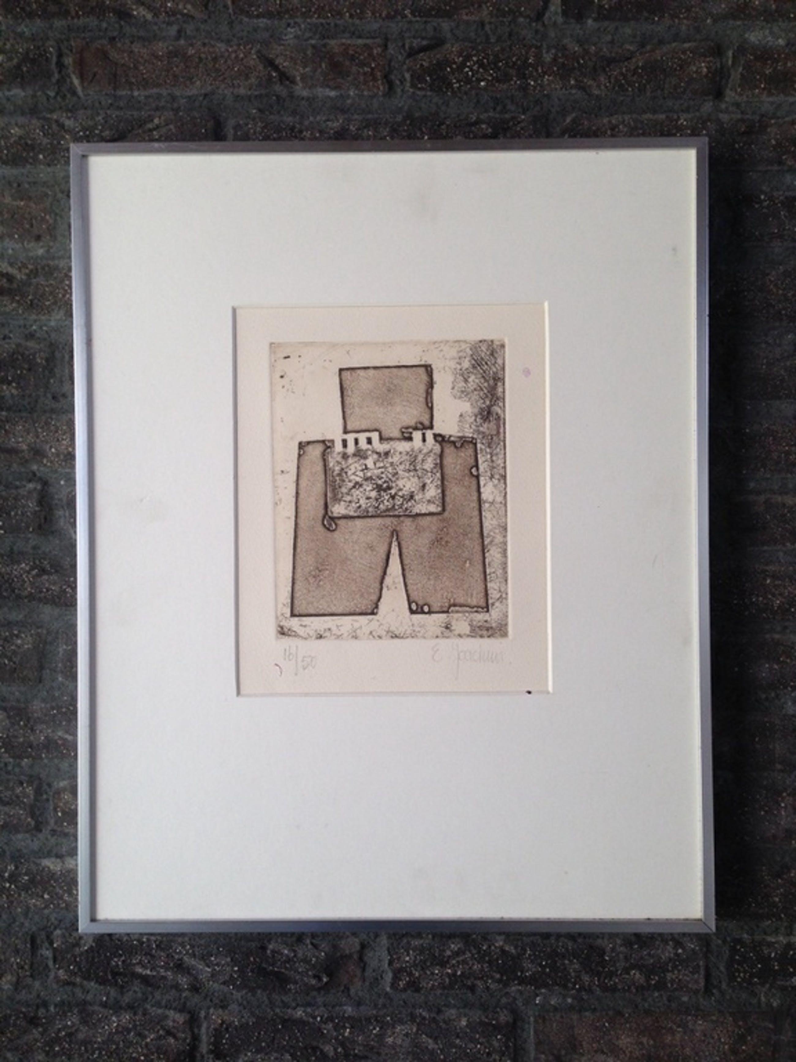 Ernest Joachim - Abstracte compositie kopen? Bied vanaf 65!