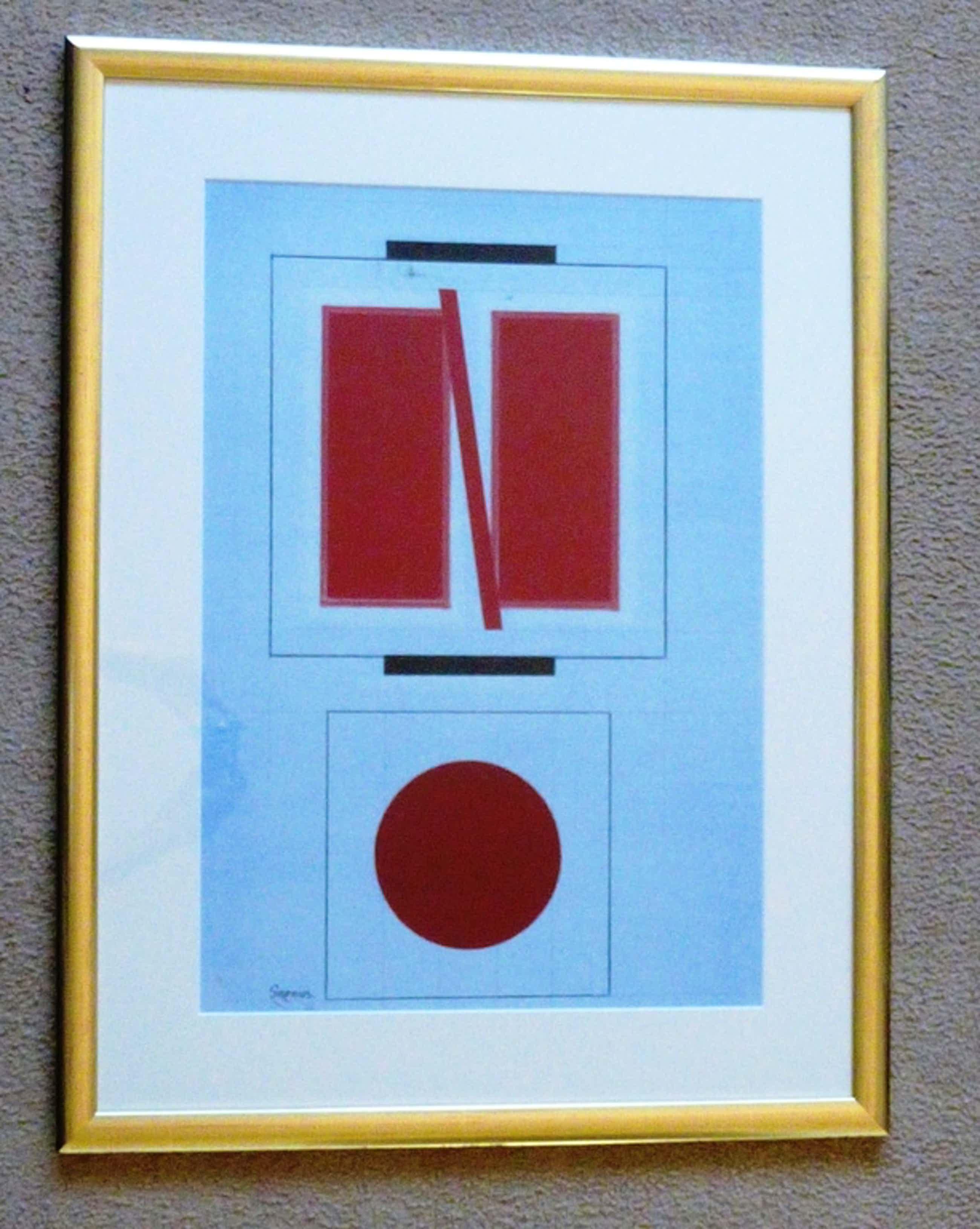 Wim Sinemus, origineel werk op papier, handgesigneerd kopen? Bied vanaf 650!