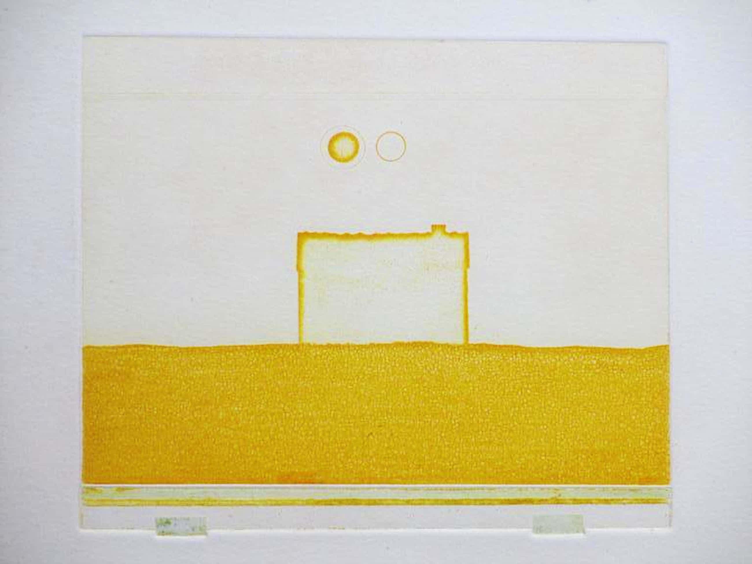 Eduard Flor, Compositie in geel, Kleurets kopen? Bied vanaf 50!