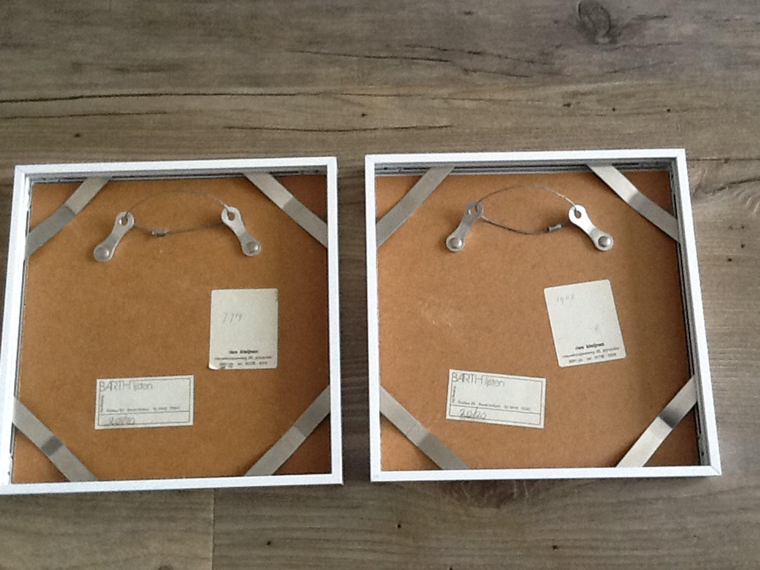 Ries Kleijnen, Set van twee etsen, Hou mij vast - Hou van mij, 1982 kopen? Bied vanaf 30!