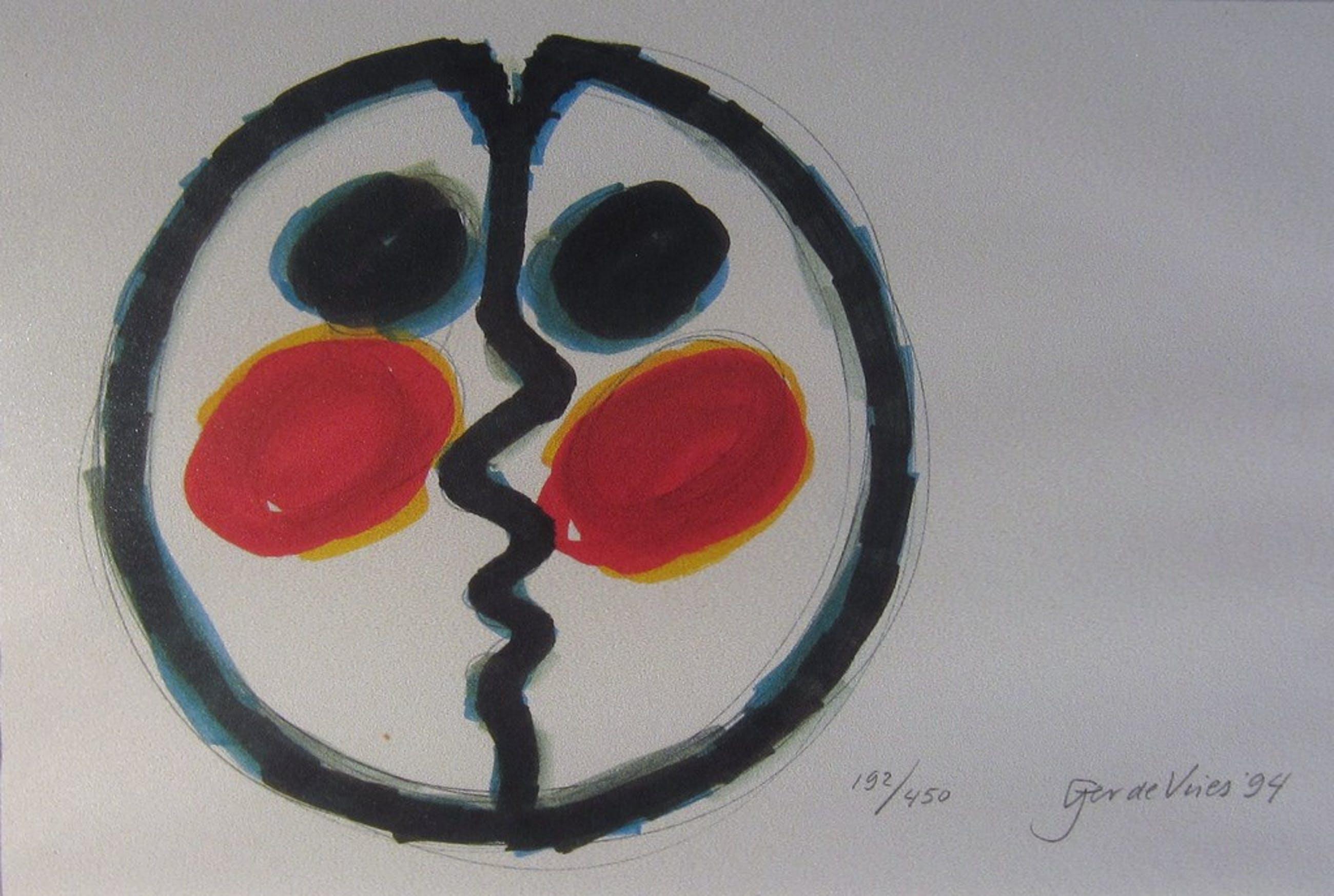 Gerard de Vries (1942) - Abstract grafiek - 1994 kopen? Bied vanaf 25!