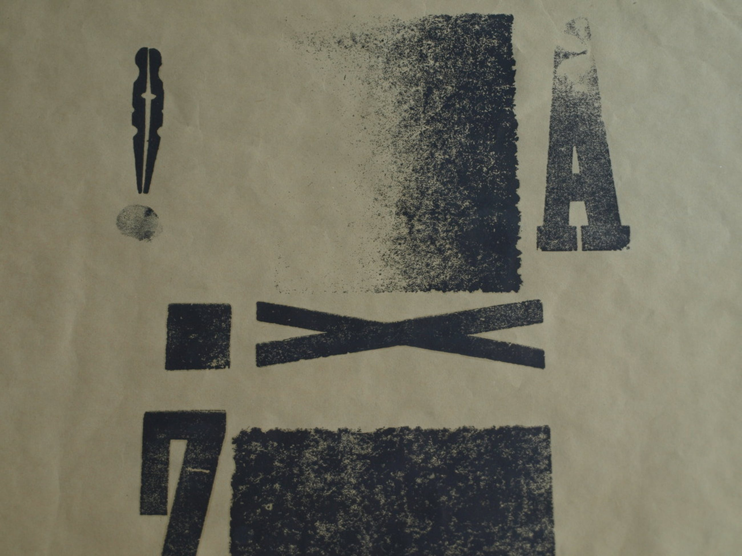 Irene Verbeek : Diepdruk , Van A tot Z – Gesigneerd & ingelijst – 1981 - 1/1 kopen? Bied vanaf 25!