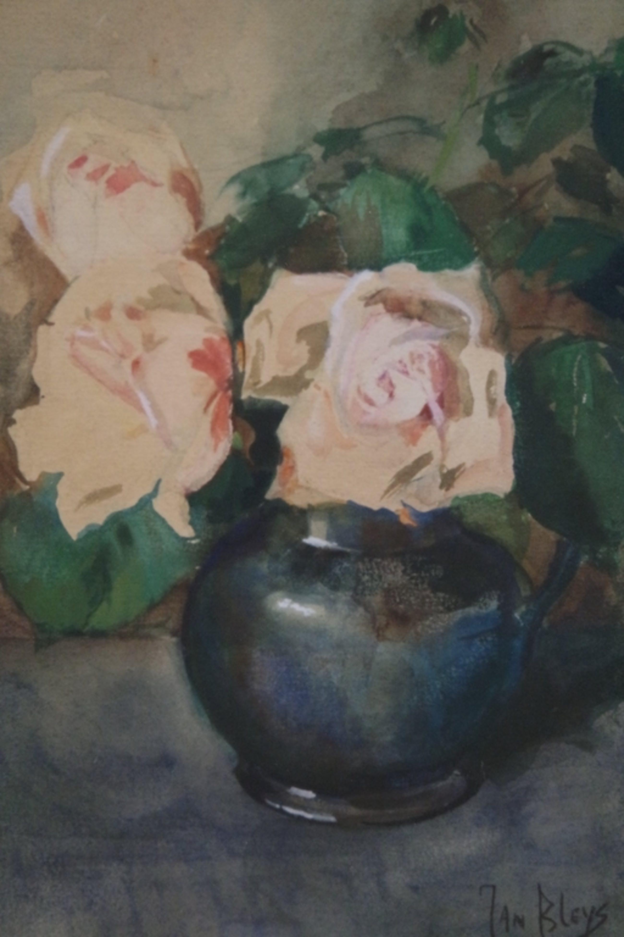 Jan Bleijs (1868-1952) - aquarel - bloemstilleven kopen? Bied vanaf 145!