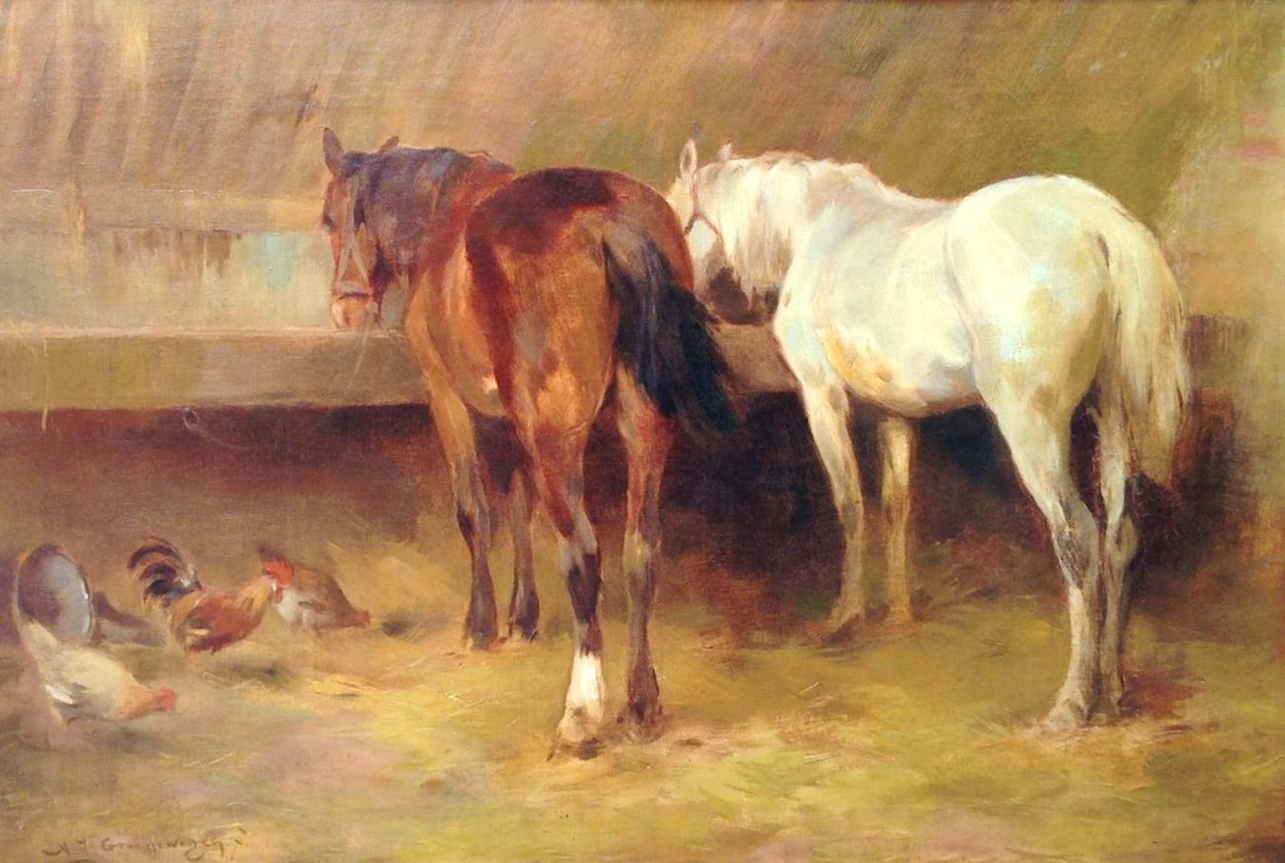 A.J. Groenewegen, Paarden in de stal kopen? Bied vanaf 285!