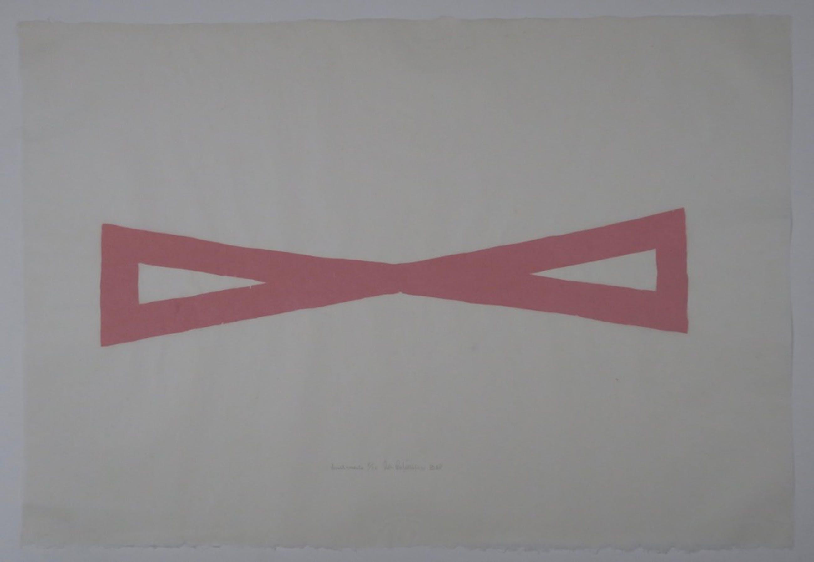 Cees Andriessen: Lino op Rijstpapier, Z.T. roze kopen? Bied vanaf 1!