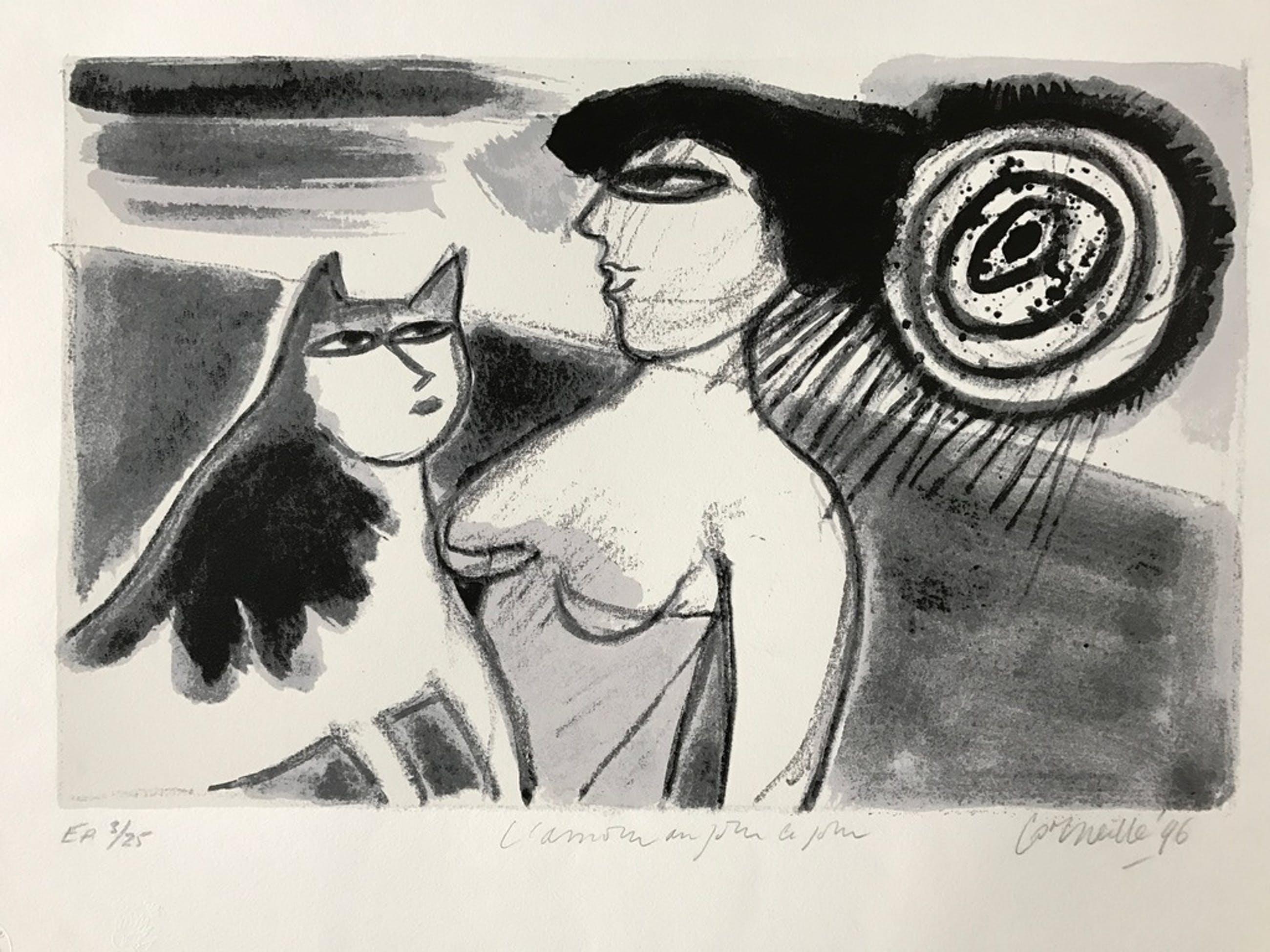 Corneille - L`amour au jour le jour - zeefdruk - gesigneerd - 1996 kopen? Bied vanaf 175!