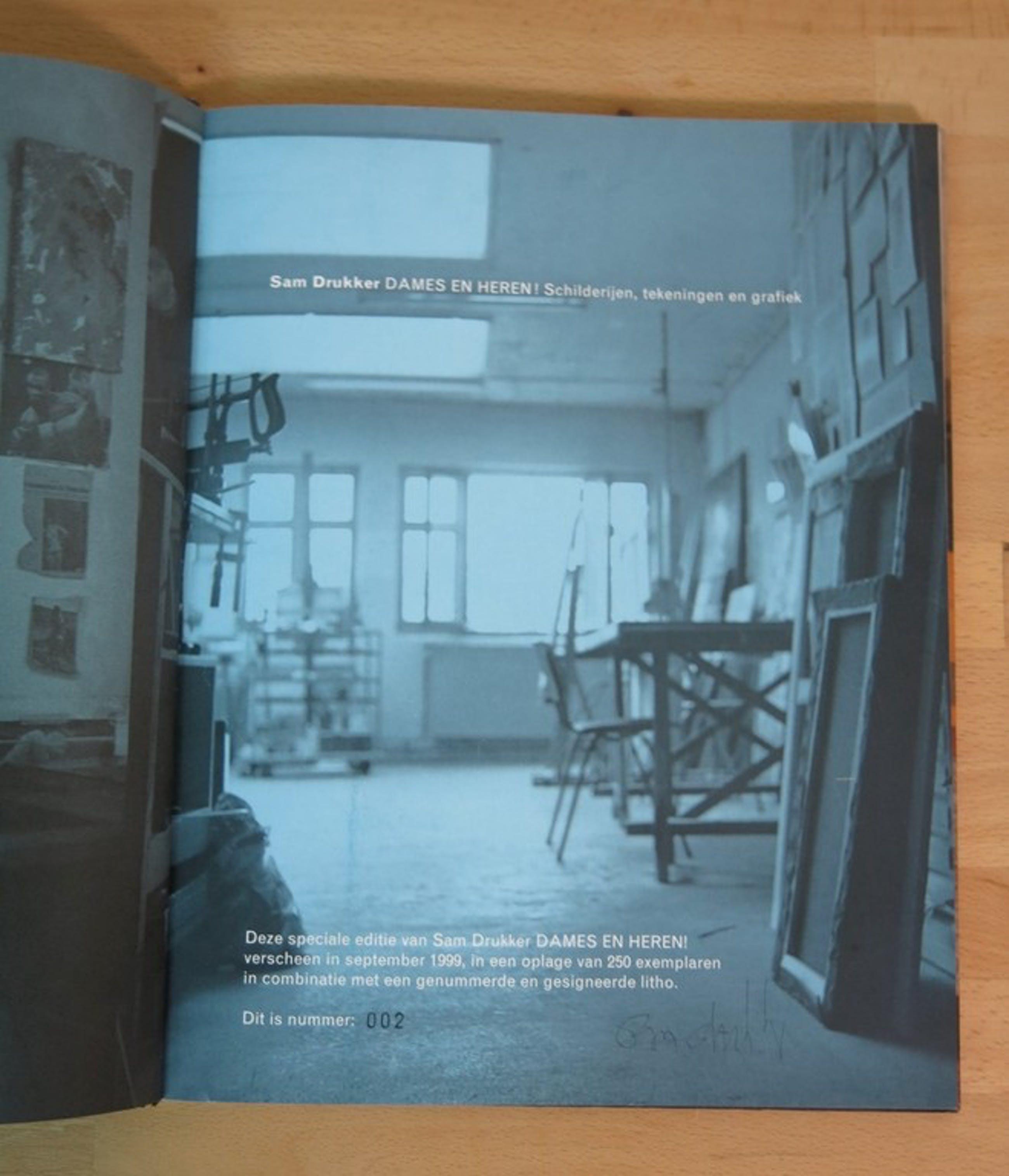 Sam Drukker: Speciale editie: Litho + Boek, DAMES EN HEREN! kopen? Bied vanaf 1!