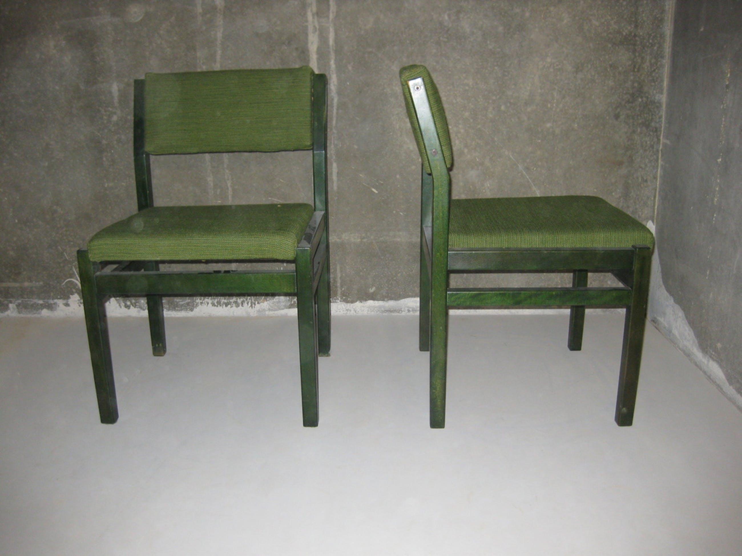 24 Design Stoelen.Twee Design Stoelen Cees Braakman Pastoe Japanse Serie
