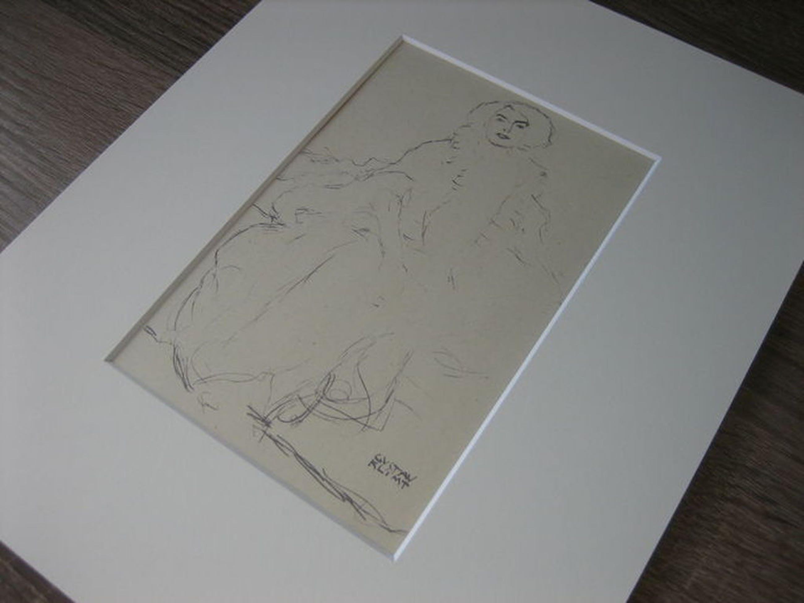 "Gustav Klimt - ""Amalie Zuckerkandl"" - Lithografie - Gustav Glück Edition 1922 kopen? Bied vanaf 1!"