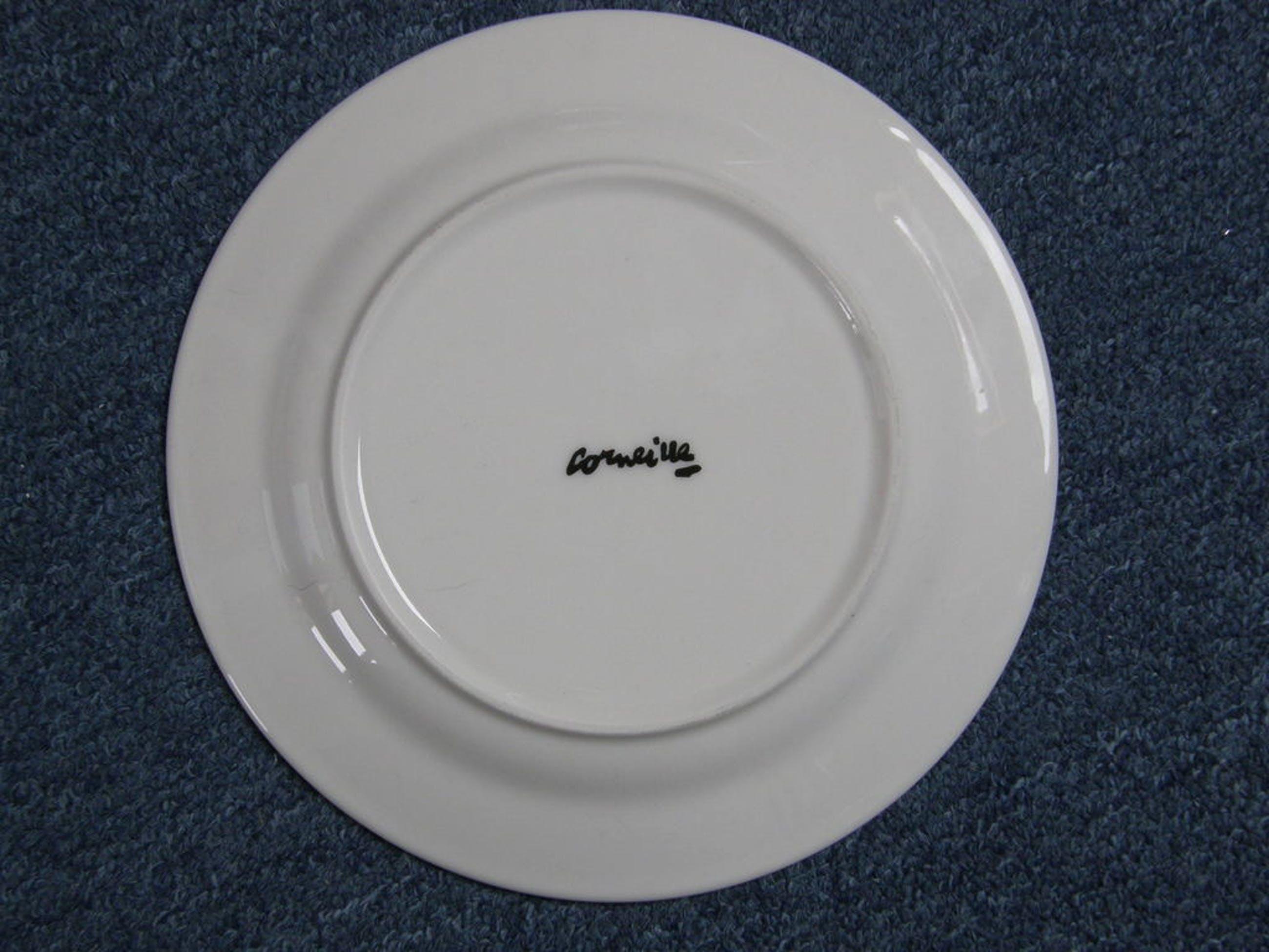 Corneille: bord, gesigneerd kopen? Bied vanaf 20!