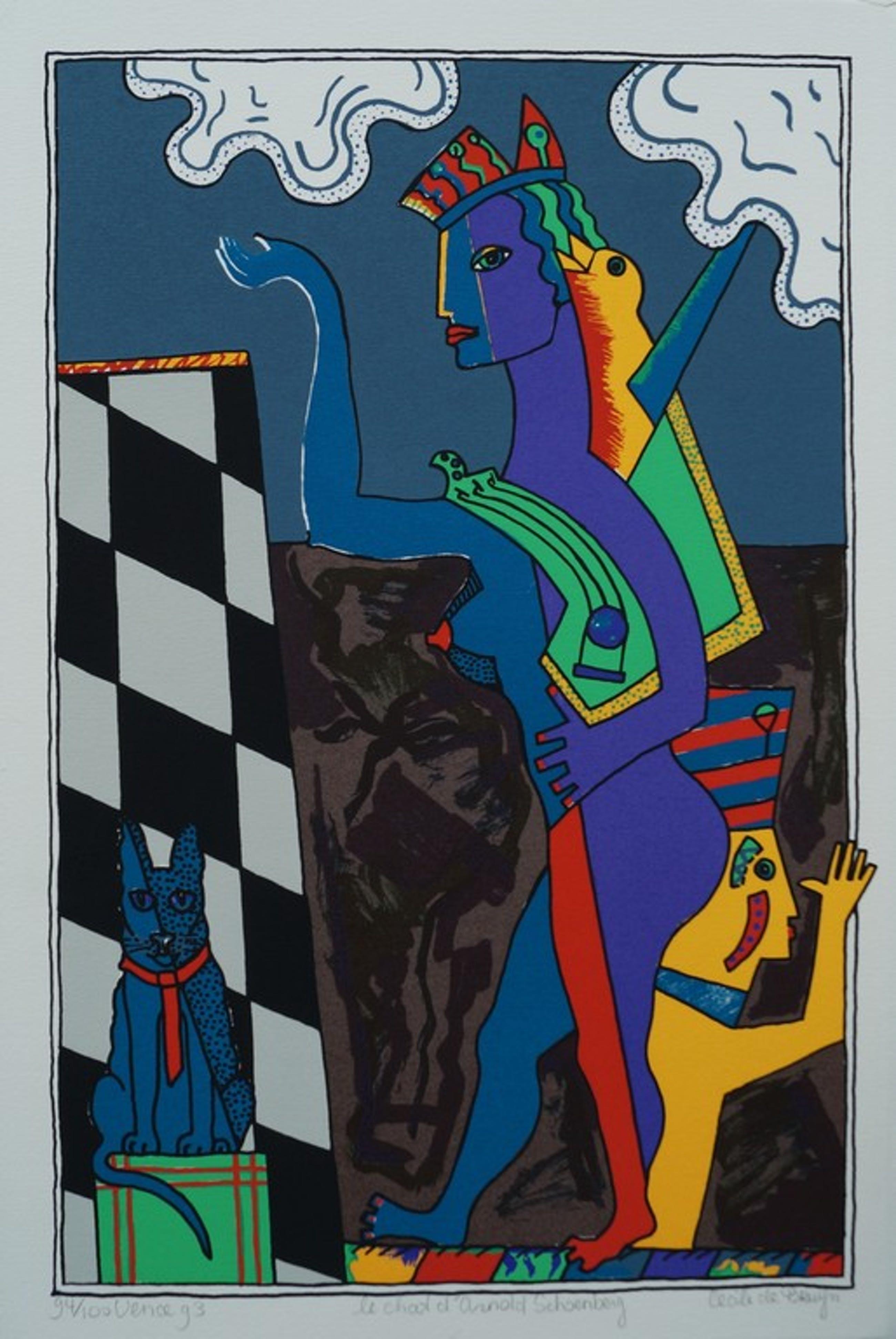 Cecile de Bruijn - Le chat 'd Arnold Schoenberg - 1993 kopen? Bied vanaf 20!