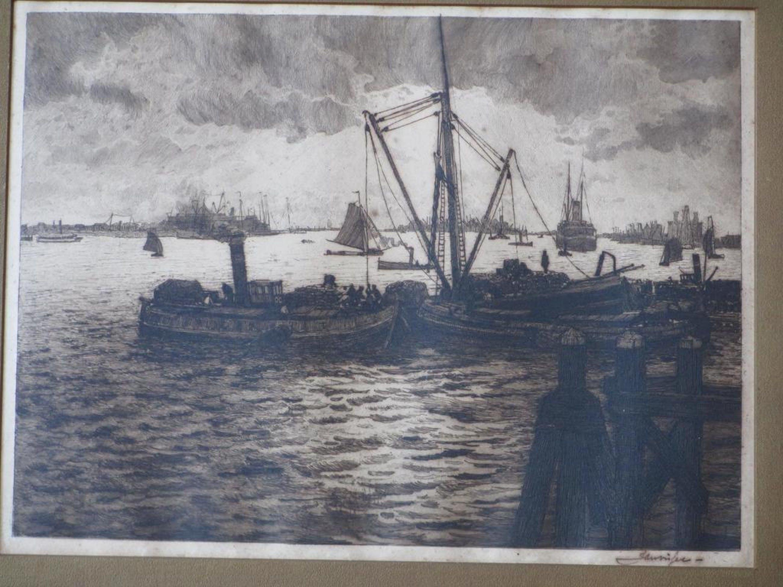 Jan Visser, Rotterdamse Haven, Ets kopen? Bied vanaf 35!