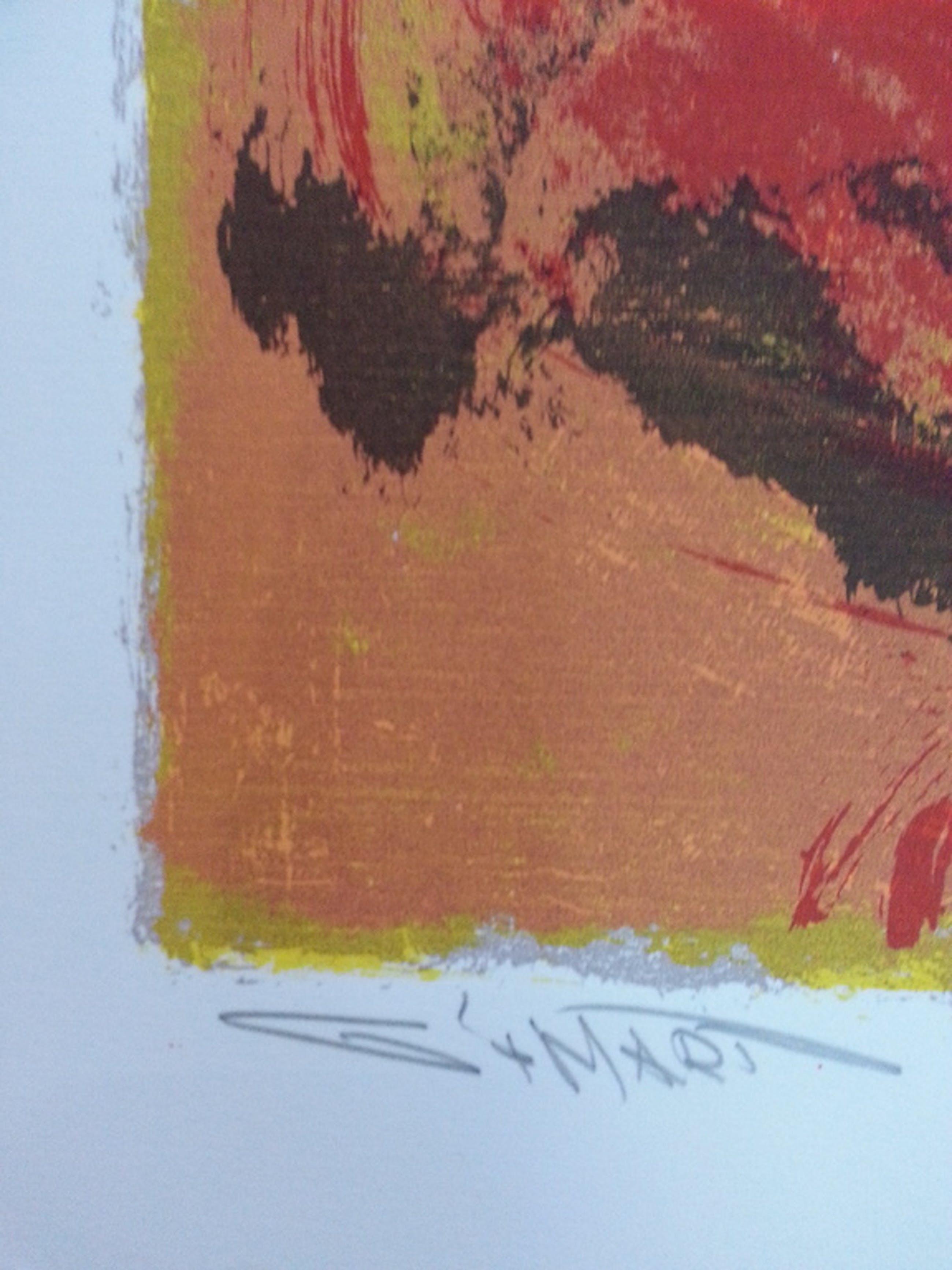Gerard 't Hart: zeefdruk op papier kopen? Bied vanaf 30!